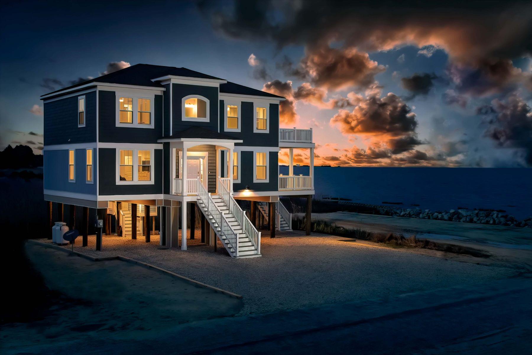 Single Family Homes 為 出售 在 Coming Soon Captain's Cove Coastal Colonial 38239 Castaway Drive, Greenbackville, 弗吉尼亞州 23356 美國