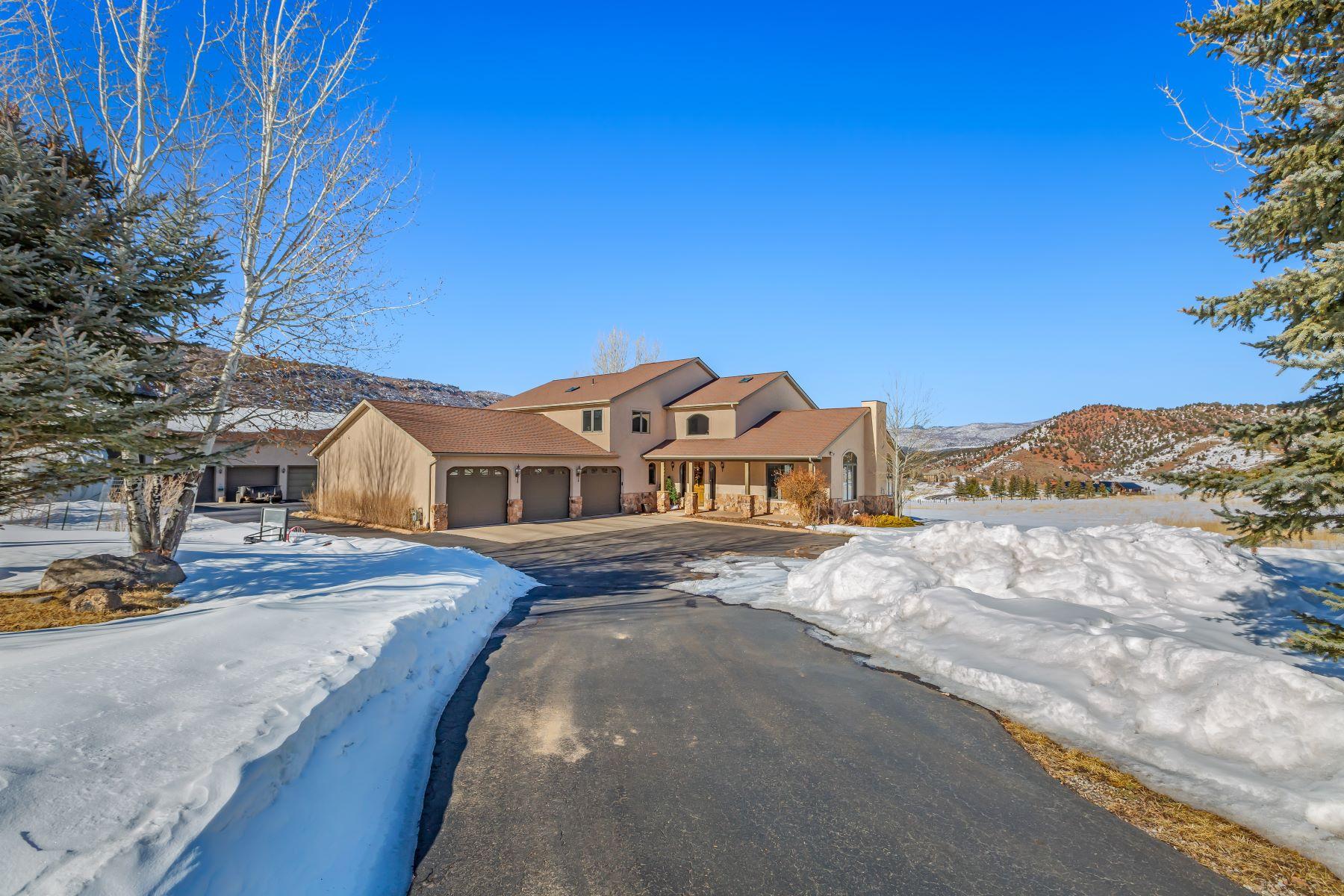 Single Family Homes のために 売買 アット Springridge Place Estate 61 Springridge Drive Glenwood Springs, コロラド 81601 アメリカ