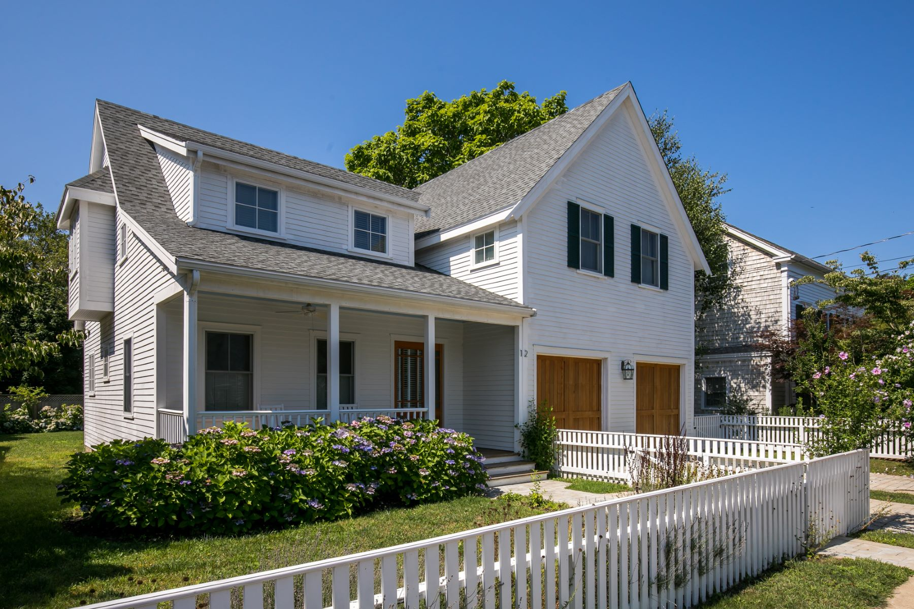 Single Family Homes for Active at Modern Home in the Village 12 Norton Street Edgartown, Massachusetts 02539 United States