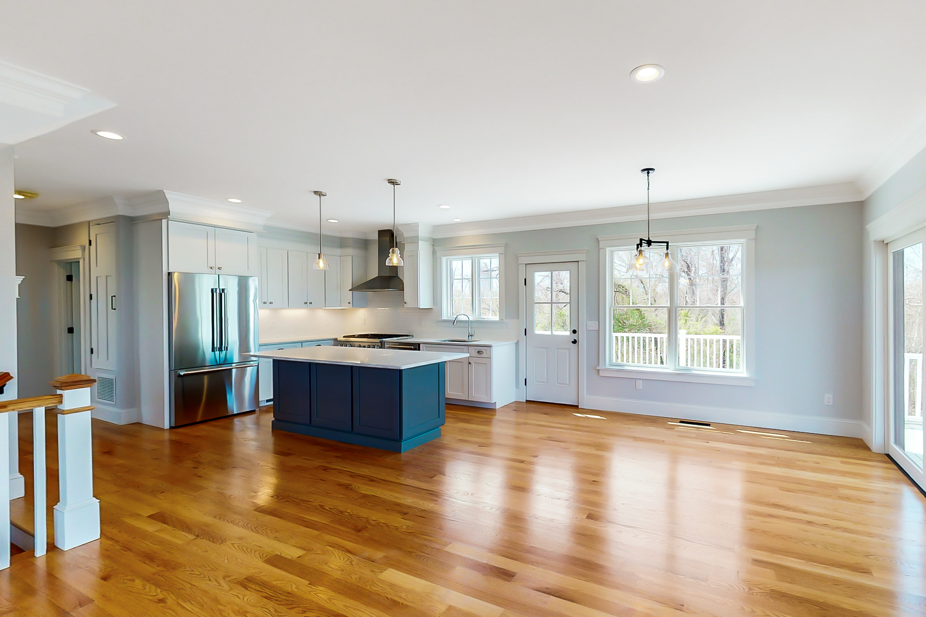 Additional photo for property listing at New Construction with Private Beach 82 Baker Road Portsmouth, Rhode Island 02871 United States