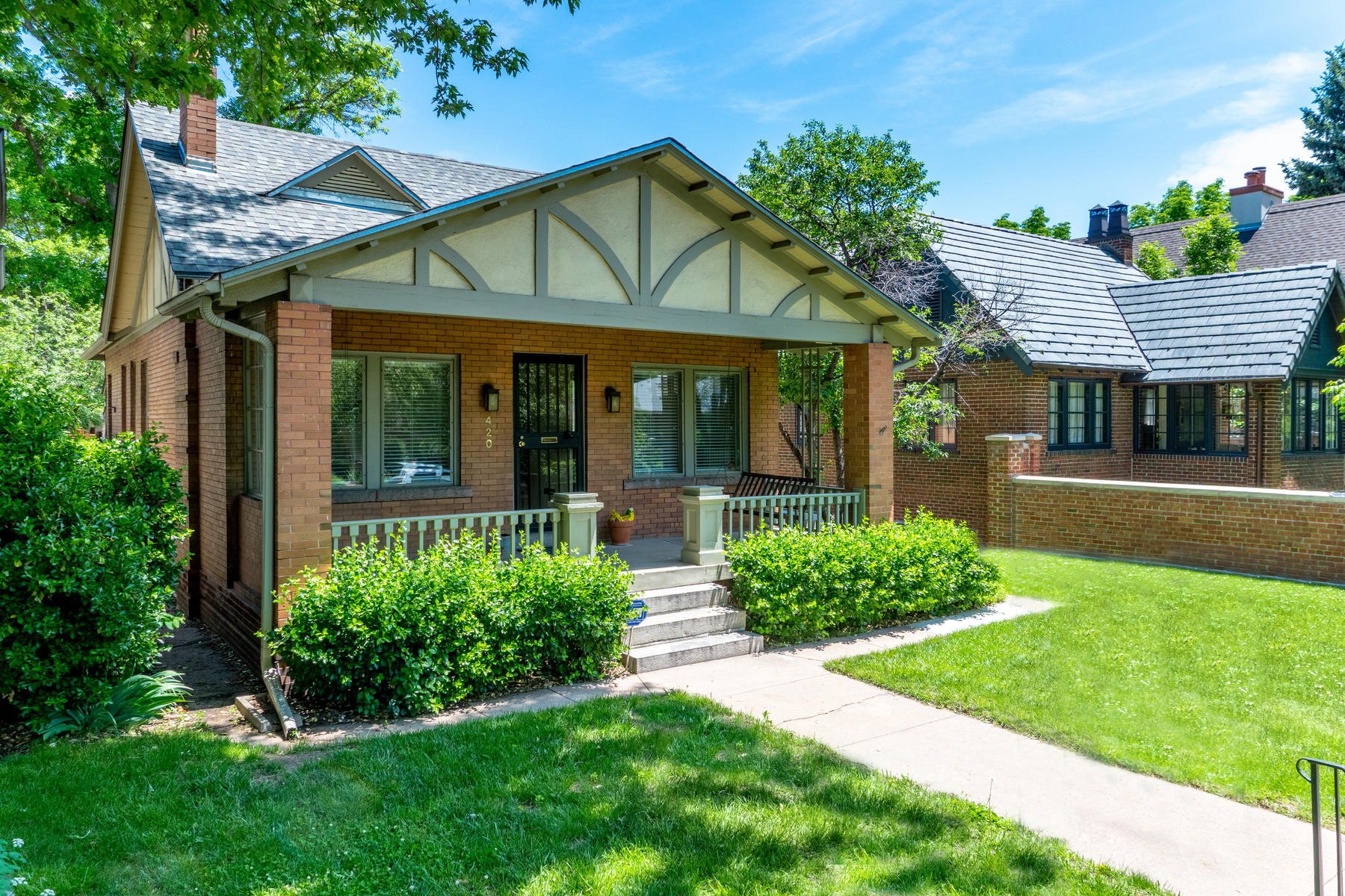 Single Family Home for Sale at Historic District Opportunity 420 N Lafayette St Country Club, Denver, Colorado, 80218 United States