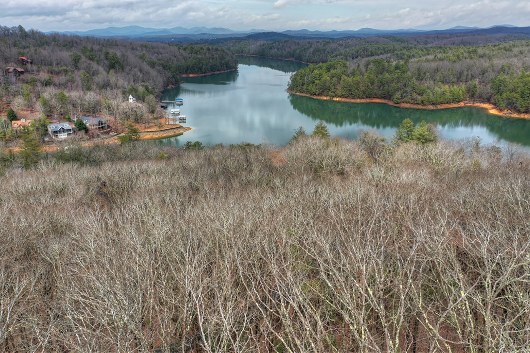 Land for Sale at Beautiful lot in gated community with views of Lake Blue Ridge 110 Shady Falls Drive Blue Ridge, Georgia 30513 United States