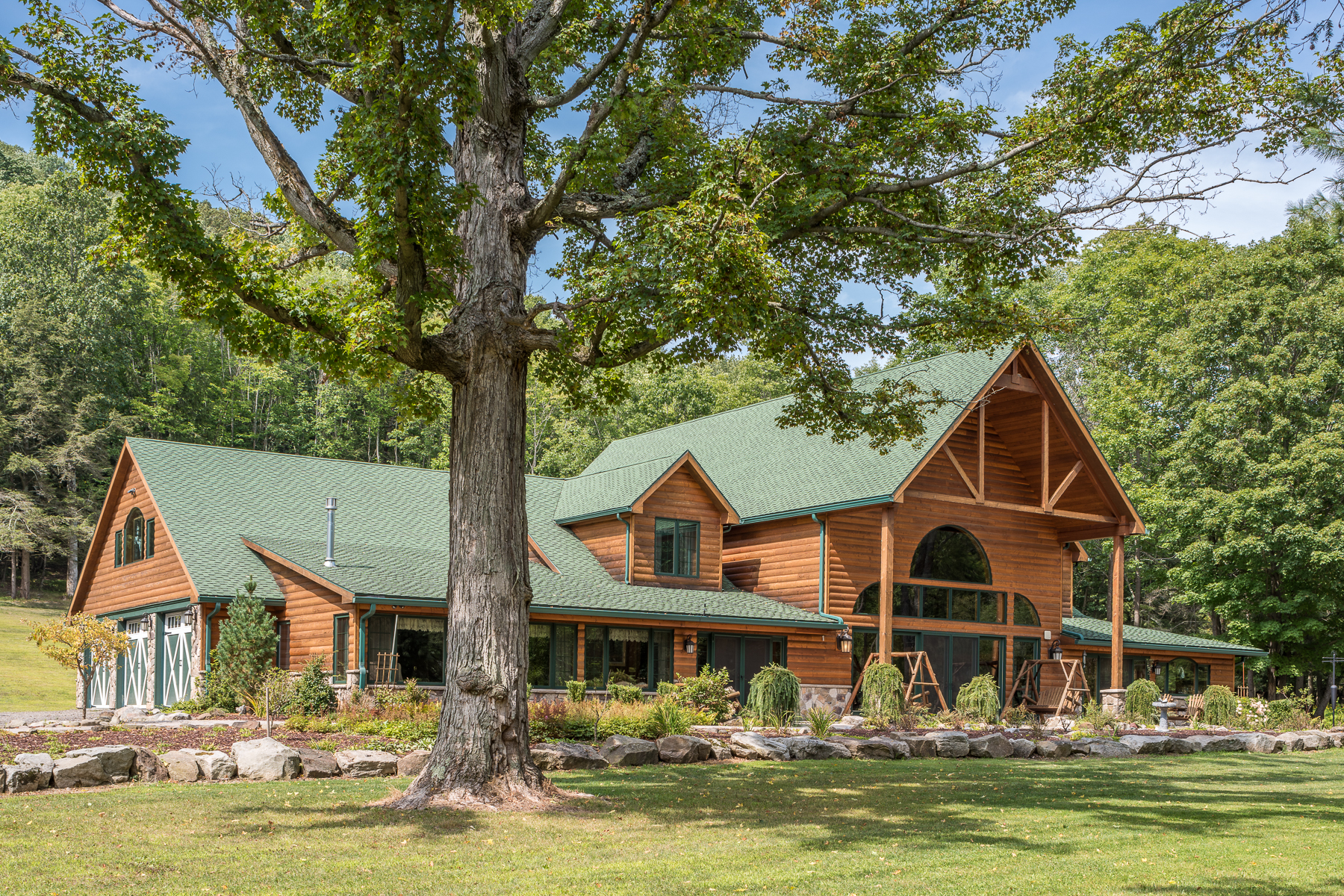 Single Family Homes for Sale at Hemlock Brook Farm 458 Wolf Run Road Portville, New York 14727 United States