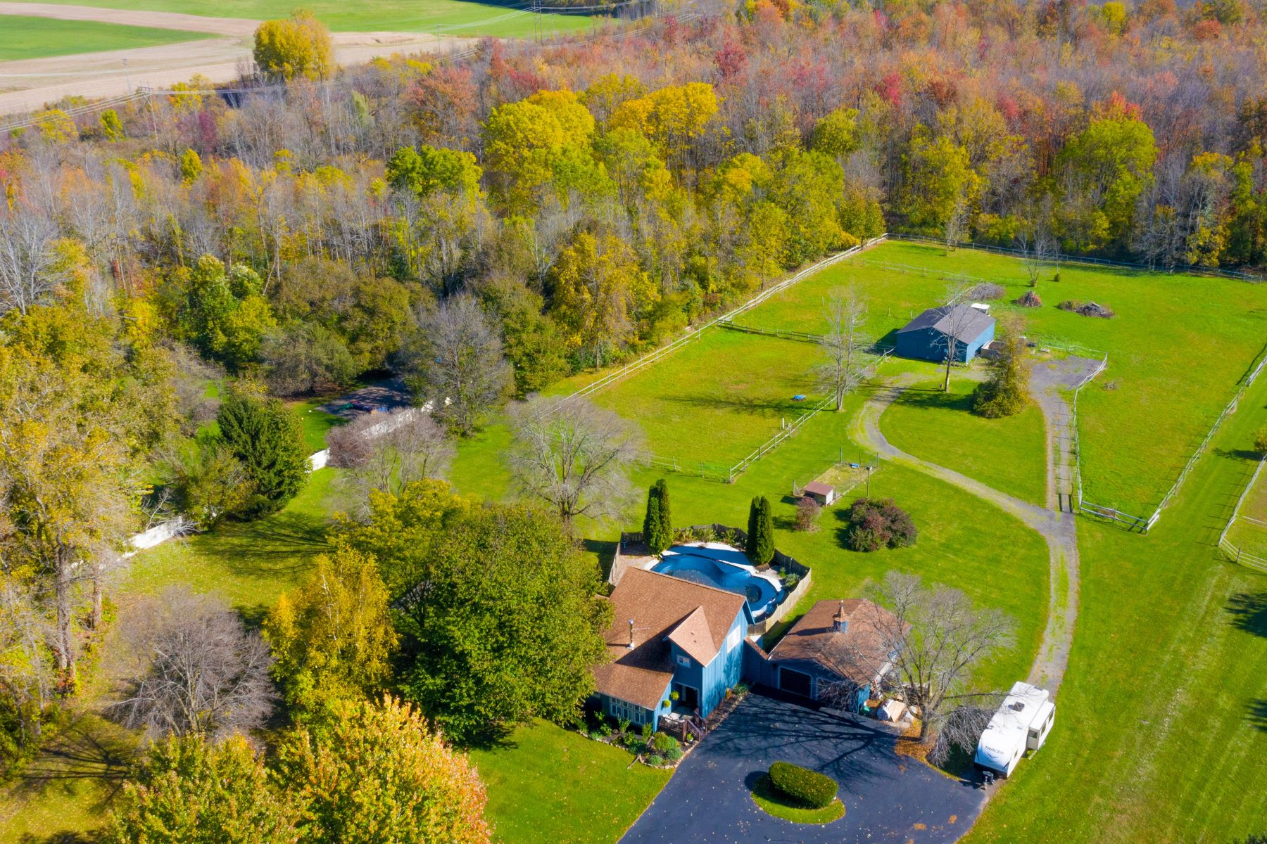 Single Family Homes for Sale at La Petite Estate 1630 Salt Road Penfield, New York 14526 United States