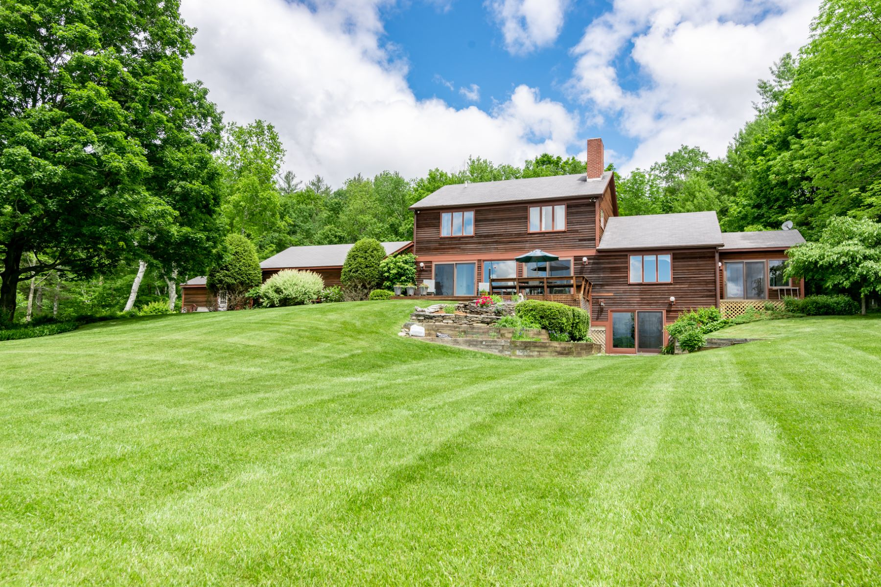Single Family Homes for Sale at Views That Reach to Massachusetts! 133 Pine Rd Dorset, Vermont 05251 United States