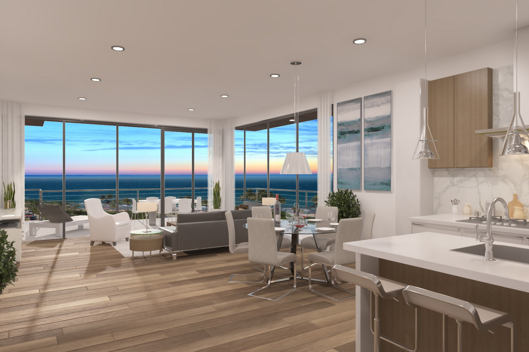 Copropriété pour l Vente à 120 S Ocean Dr , 4 South, Deerfield Beach, FL 3344 120 S Ocean Dr 4 South, Deerfield Beach, Florida, 33441 États-Unis