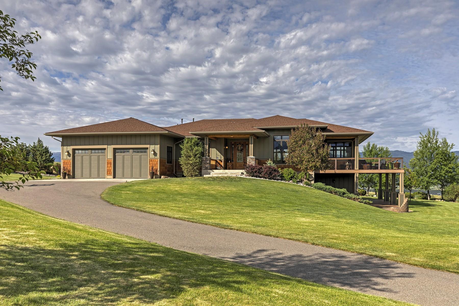 Single Family Homes por un Venta en 1003 Bear Paws Cluster Missoula, Montana 59808 Estados Unidos