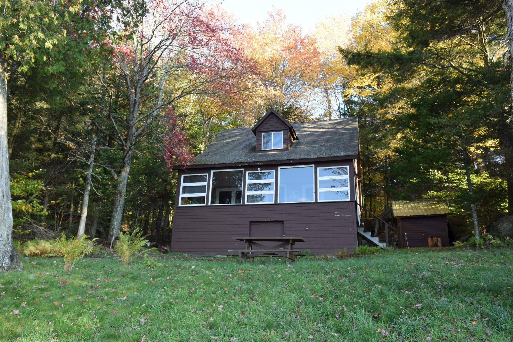 Additional photo for property listing at Lakefront Home with Great Views 2425 South Shore Road Old Forge, New York 13420 United States