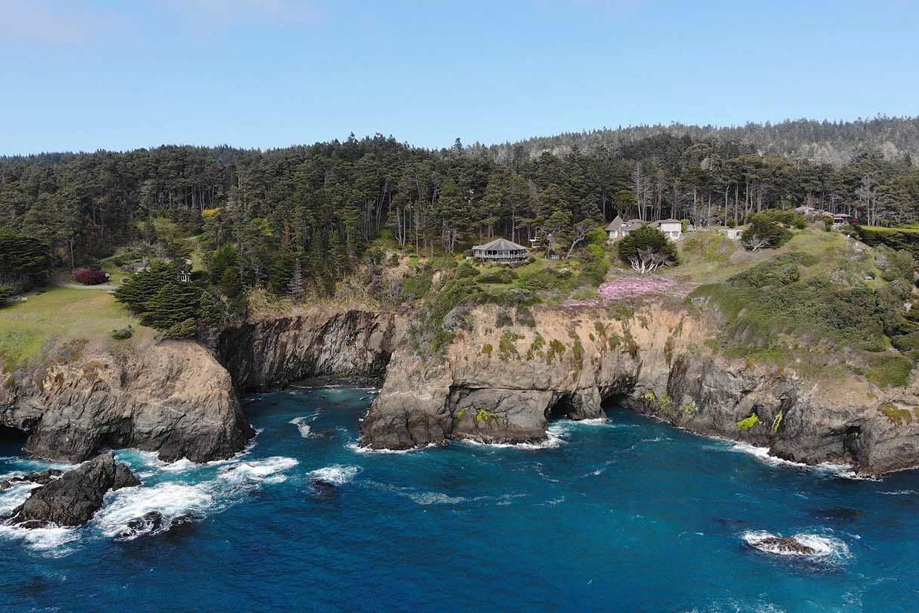 Land for Sale at Mendocino Coast Oceanfront 6056-6064 N. Highway One Little River, California 95456 United States