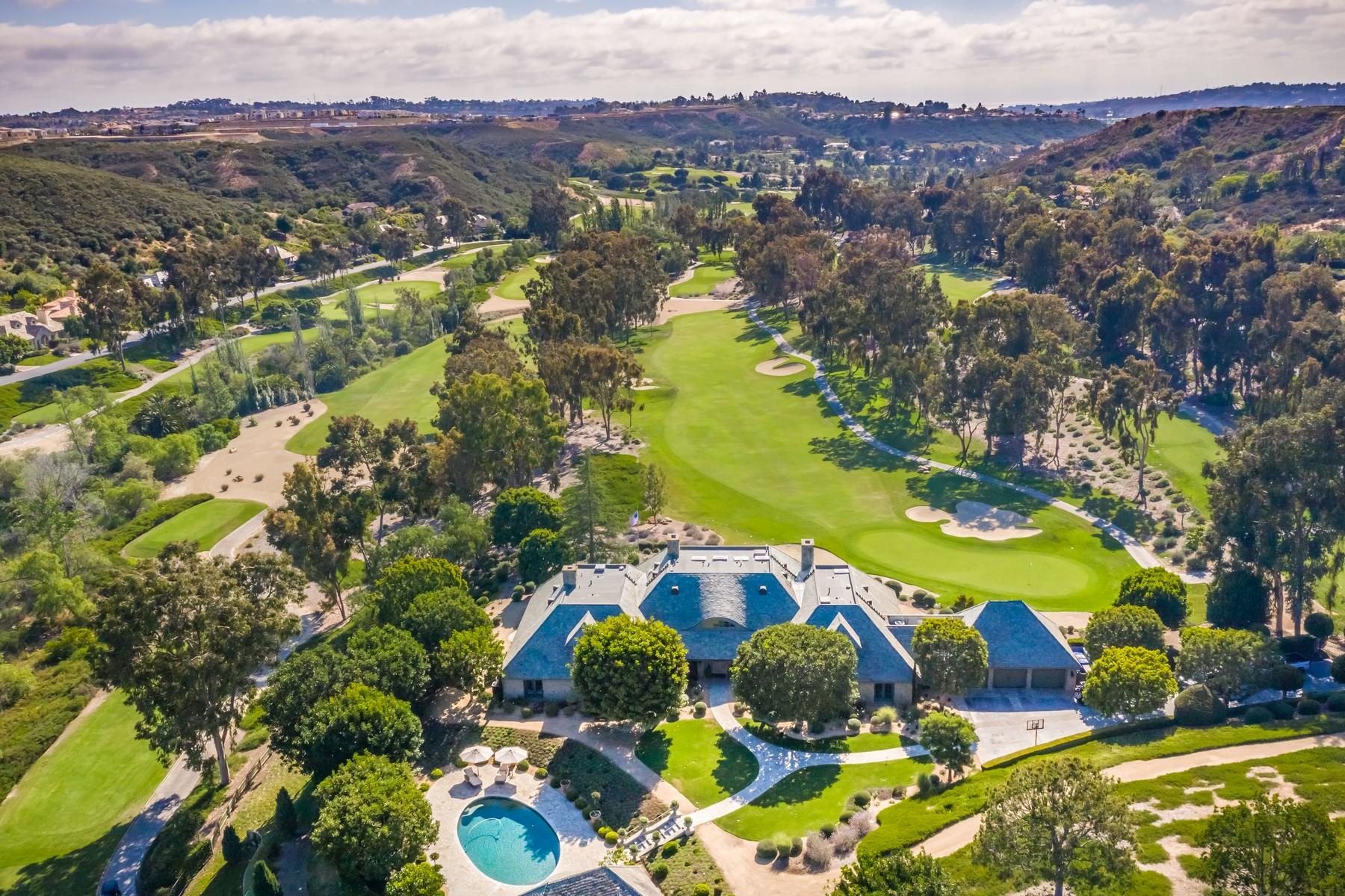 Single Family Homes for Sale at 14497 Emerald Lane Rancho Santa Fe, California 92067 United States