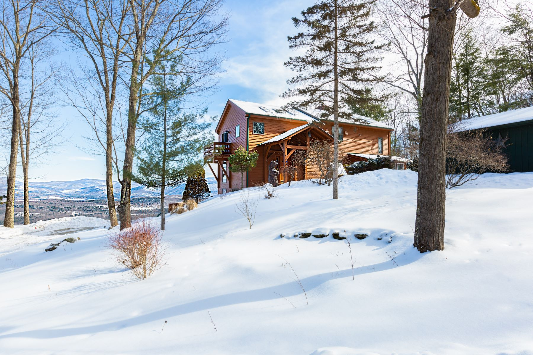 Single Family Home for Sale at Summit View Retreat 61 Fire Tower Rd Cambridge, New York 12816 United States