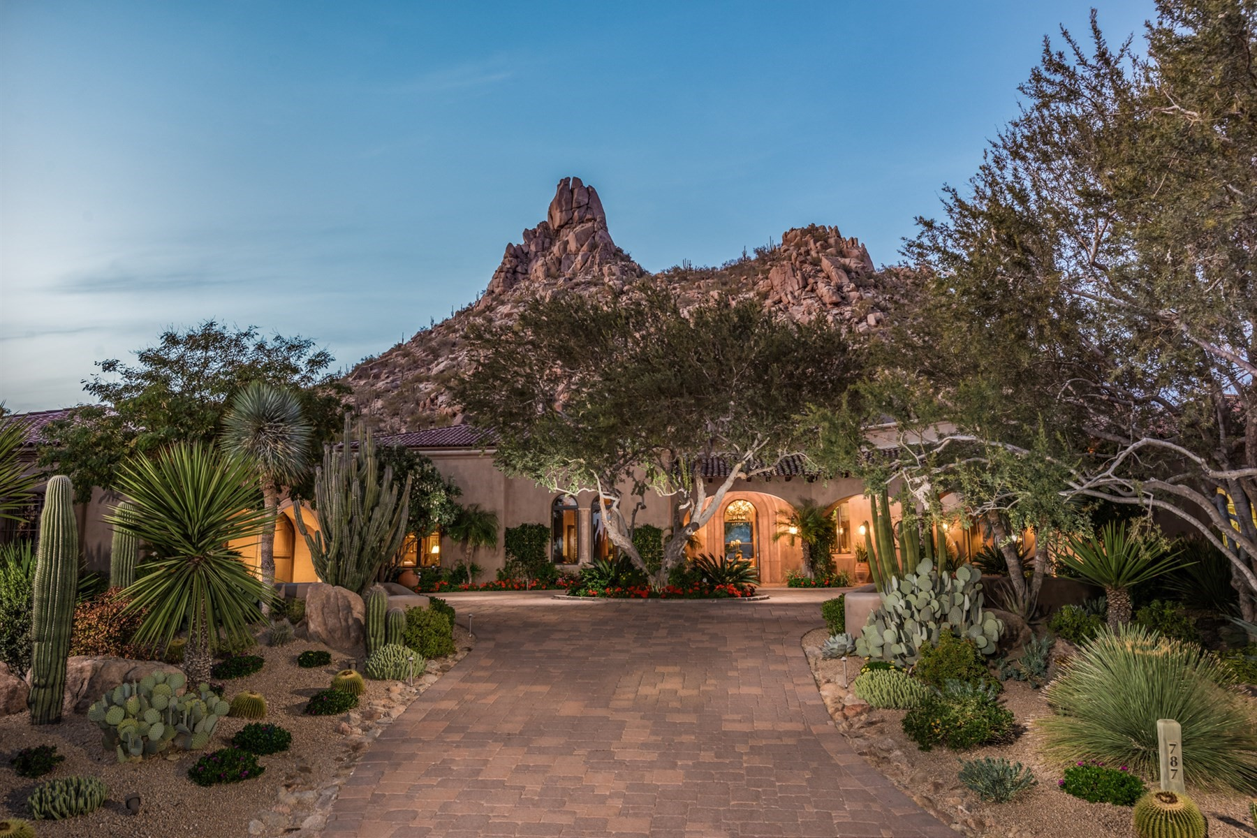 Single Family Home for Sale at Spectacular home nestled at the base of Pinnacle Peak 10040 E HAPPY VALLEY RD 787, Scottsdale, Arizona, 85255 United States