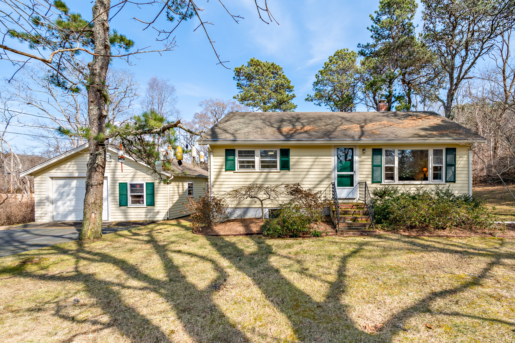 Single Family Homes for Active at Ranch with a studio and garage within the National Seashore 13 Atwood Road Truro, Massachusetts 02666 United States