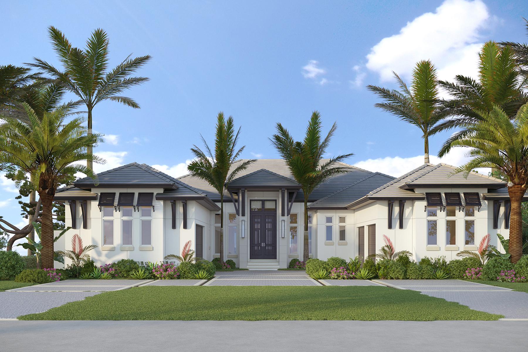 Single Family Homes para Venda às 3011 Crayton Road Nápoles, Florida 34103 Estados Unidos
