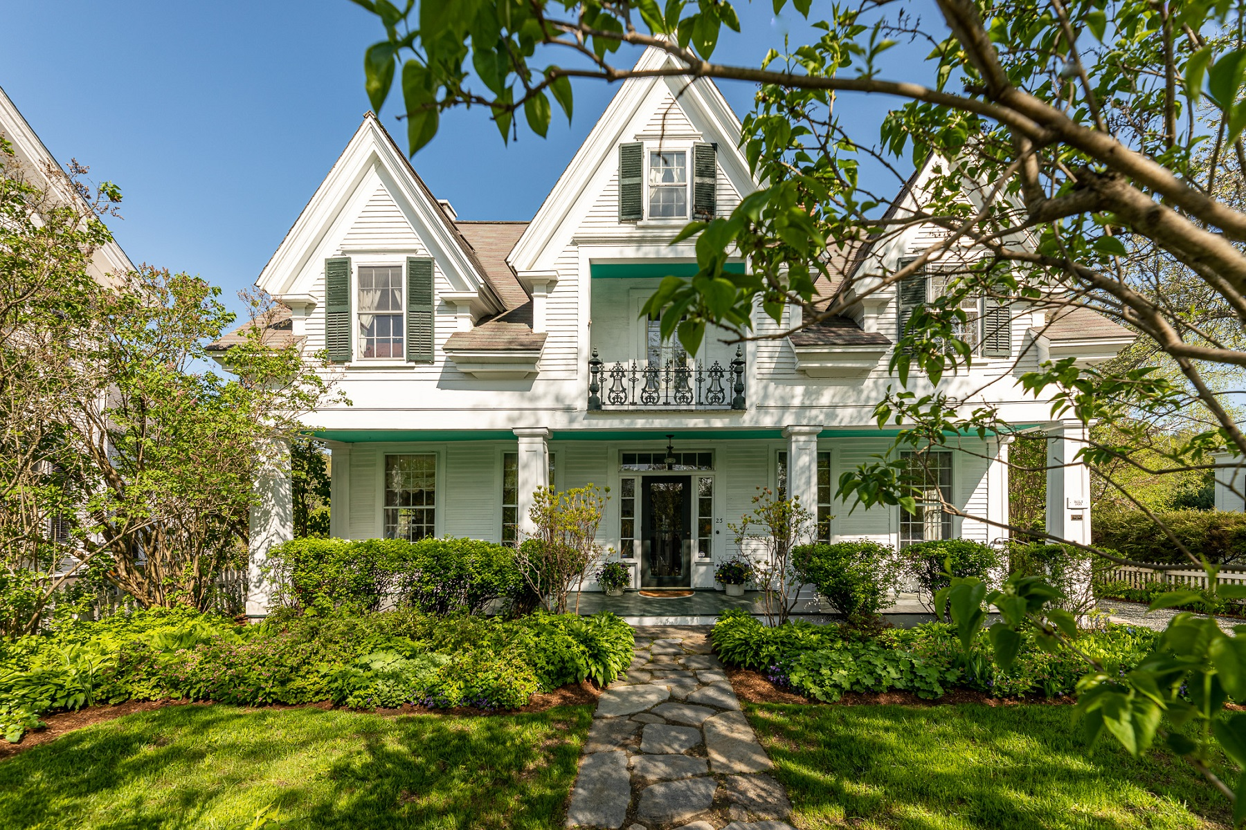 Single Family Homes for Sale at Gracious Circa 1803 Home 23 The Green Woodstock, Vermont 05091 United States