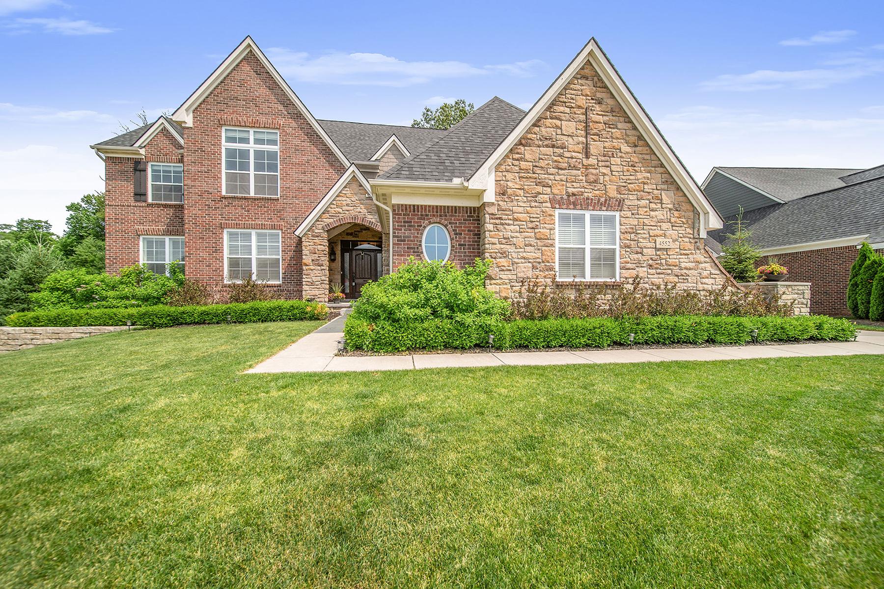Single Family Homes for Sale at Clarkston 4552 Oakhurst Ridge Road Clarkston, Michigan 48348 United States