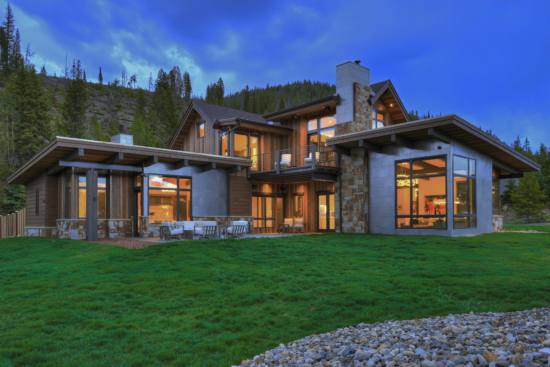 Single Family Homes for Sale at Unmatched Contemporary Custom Home 381 Revett Drive Breckenridge, Colorado 80424 United States