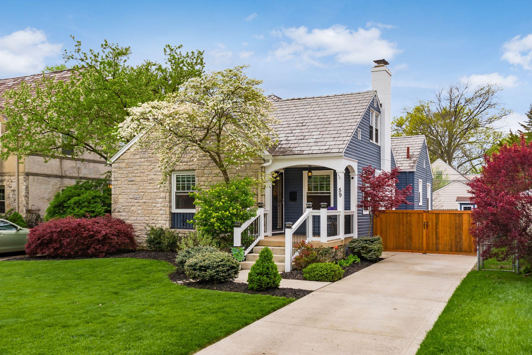 Single Family Homes 为 销售 在 59 North Stanwood Road 贝克斯利, 俄亥俄州 43209 美国