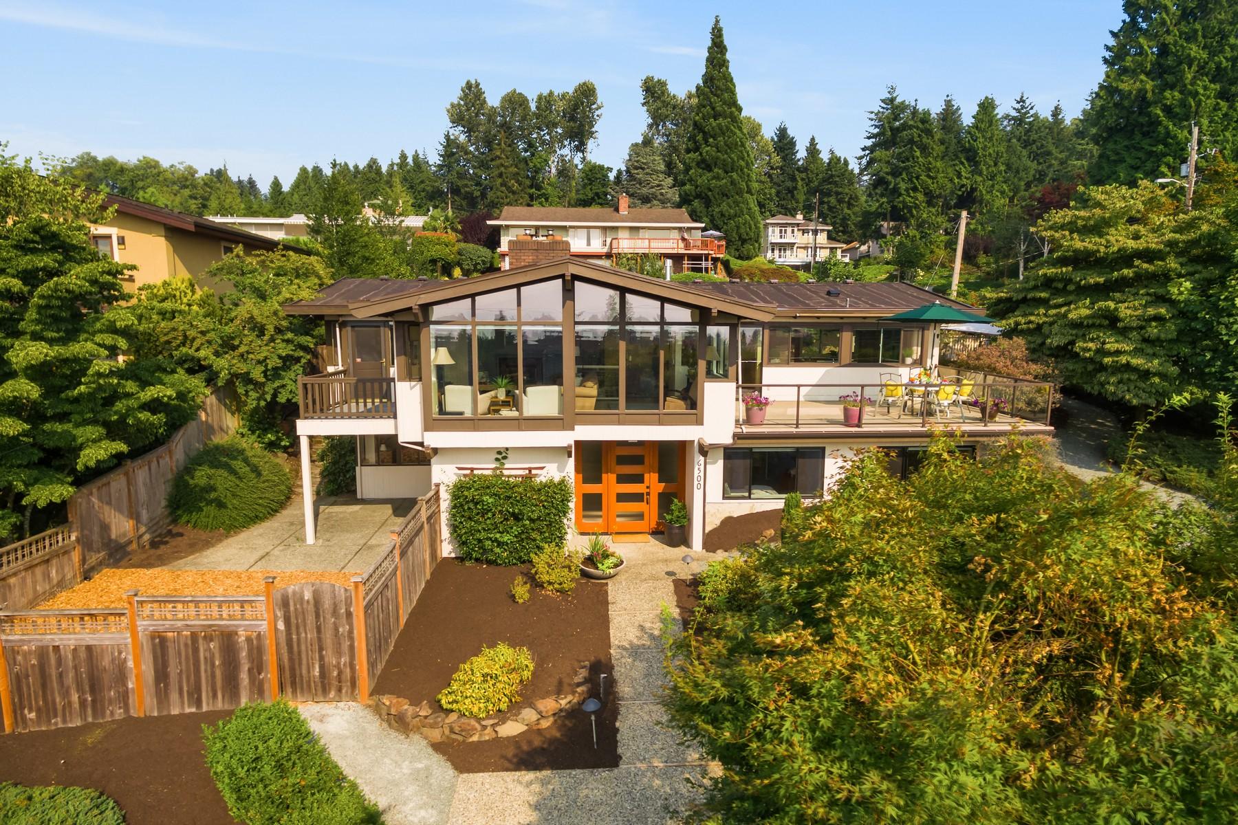 Single Family Home for Sale at Kirkland Mid-Century Rambler 6500 113th Ave NE Kirkland, Washington 98033 United States