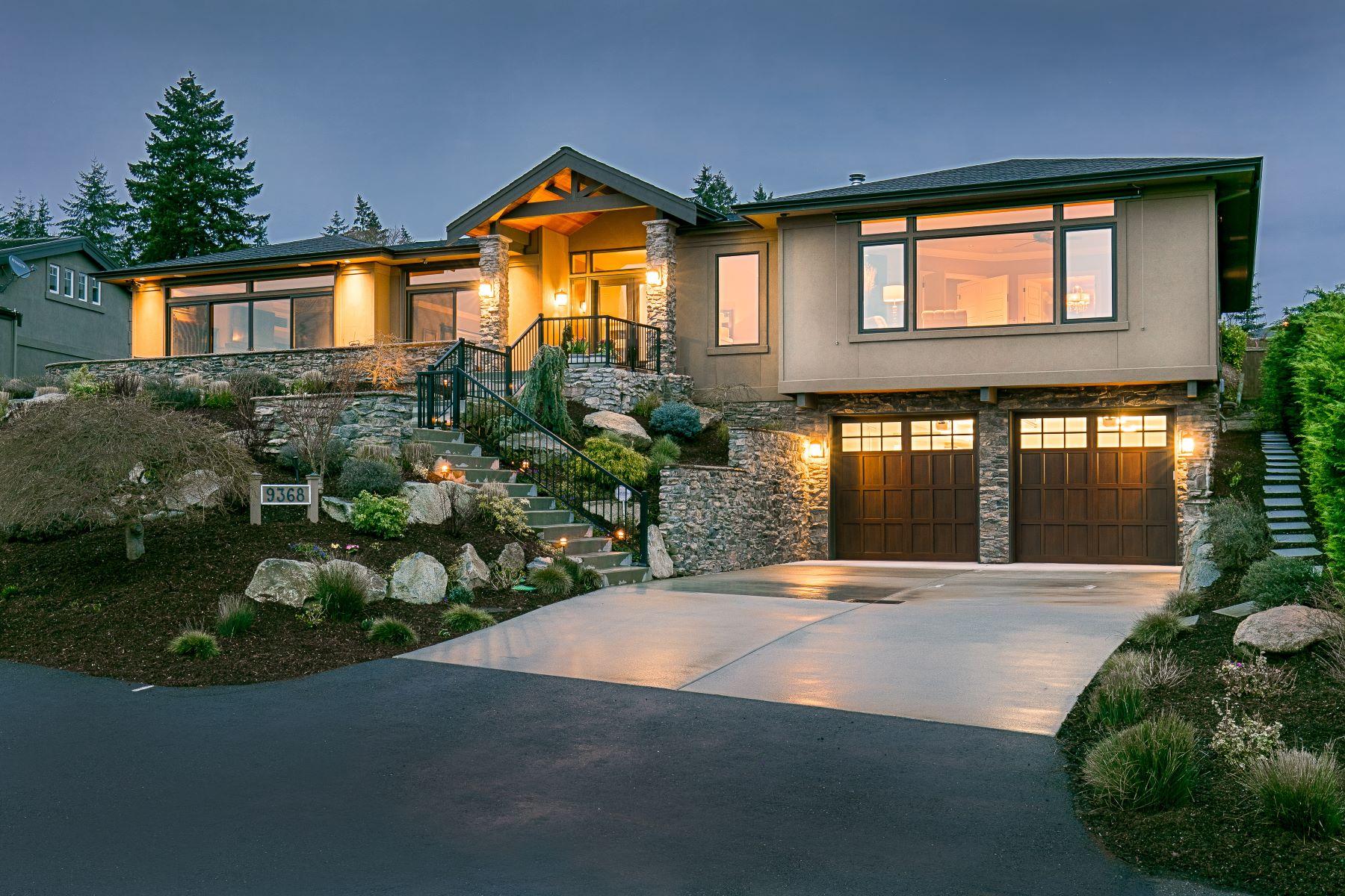 Single Family Home for Sale at Exquisite Vuecrest Estate 9368 Vineyard Crst Bellevue, Washington, 98004 United States