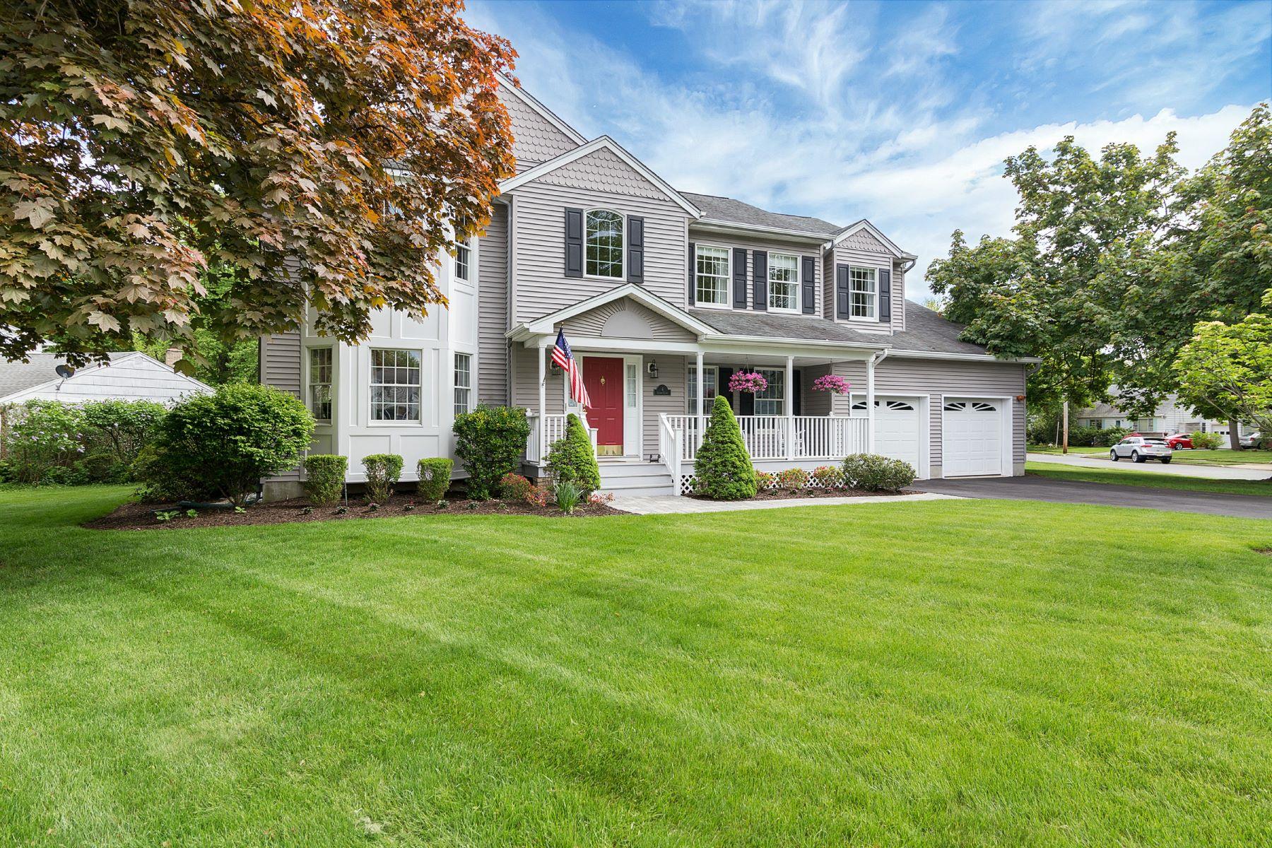 Частный односемейный дом для того Продажа на Wonderful & Young Cresskill Colonial! 6 Cherry Court Cresskill, Нью-Джерси, 07626 Соединенные Штаты