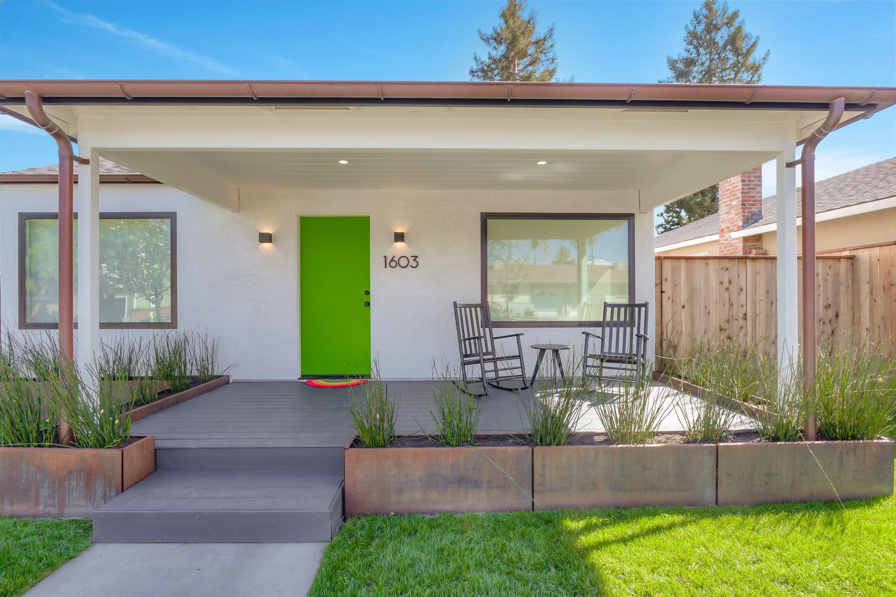 Single Family Homes para Venda às Custom Rebuild 1603 Madison Avenue, Redwood City, Califórnia 94061 Estados Unidos