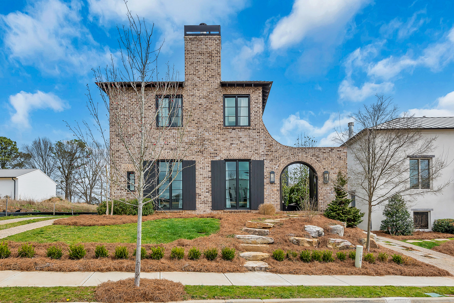 Single Family Homes for Sale at Charming Mediterranean 6905 Colfax Avenue Cumming, Georgia 30040 United States
