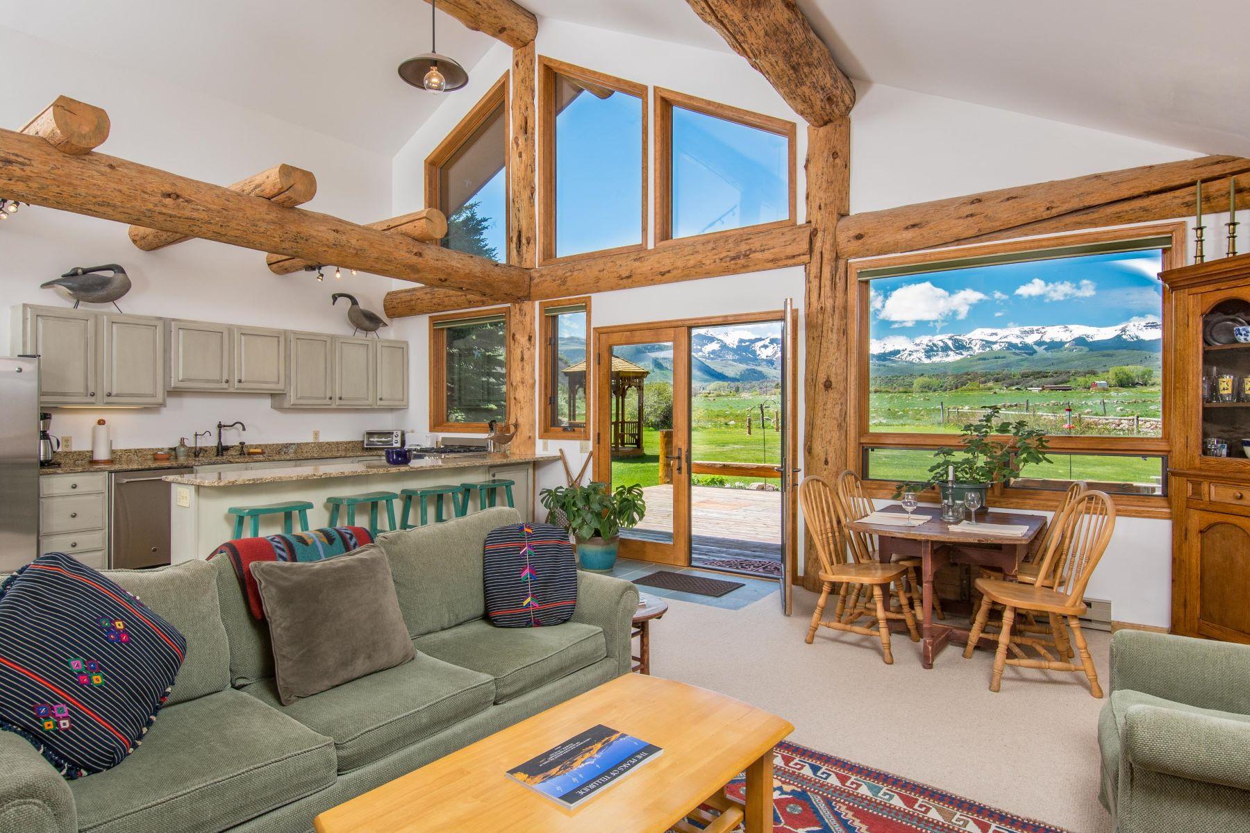 단독 가정 주택 용 매매 에 Little Elk Creek 144 Haystack Lane Snowmass, 콜로라도, 81654 미국