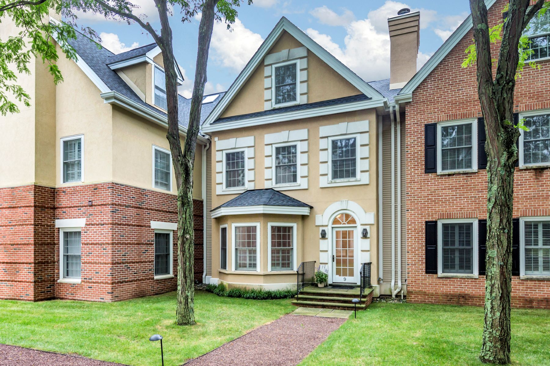 Townhouse for Sale at Framed by Quiet Courtyards and Leafy Streets 9 Governors Lane, Princeton, New Jersey 08540 United StatesMunicipality: Princeton