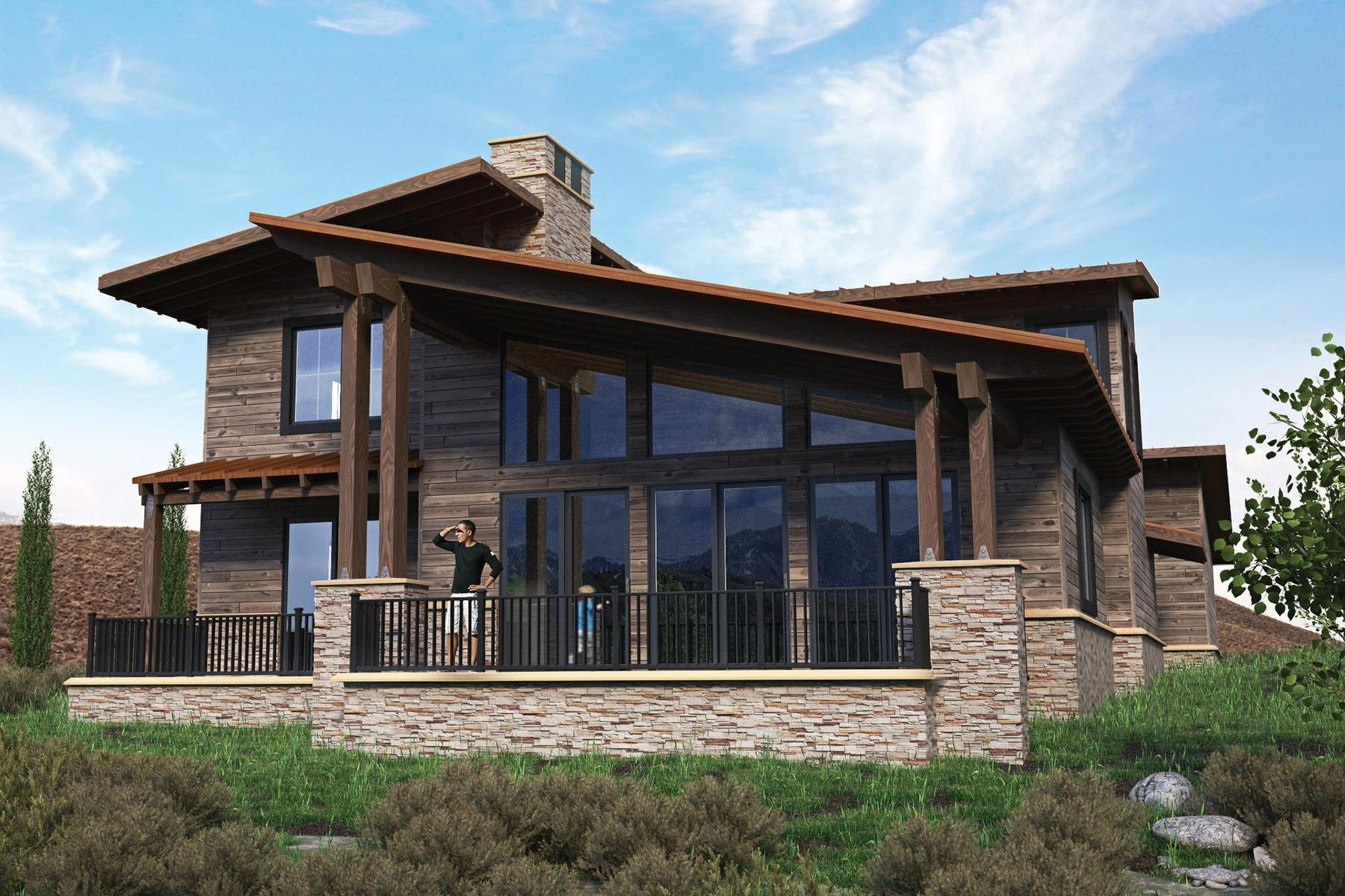 Vivienda unifamiliar por un Venta en New Nicklaus Golf Cabin Promontory Lot #24 6700 Golden Bear Loop West Lot 24 Park City, Utah, 84098 Estados Unidos