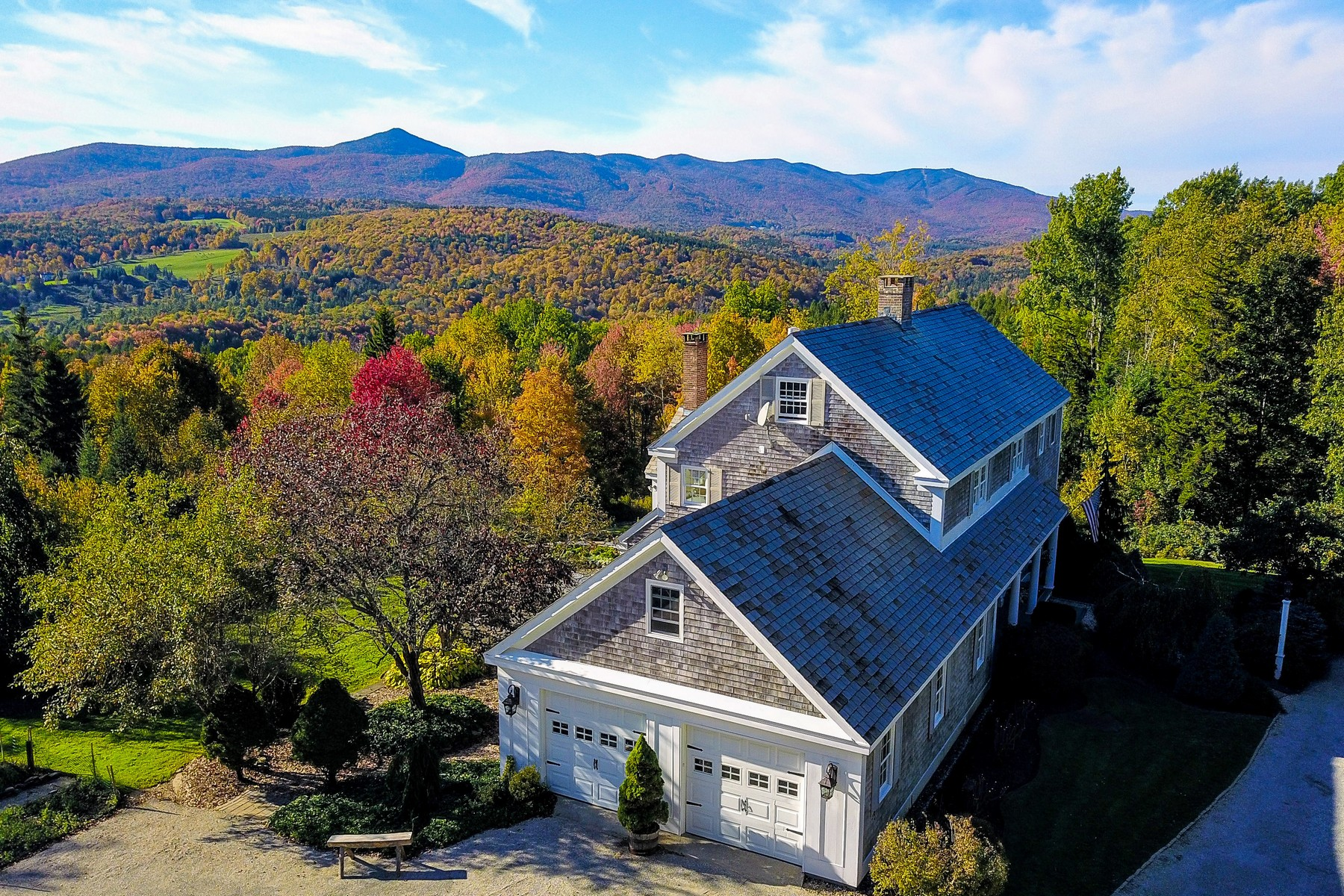 Single Family Home for Sale at Stunning Residence with Breathtaking Views 42 Beau Ridge Rd Wilmington, Vermont 05363 United States