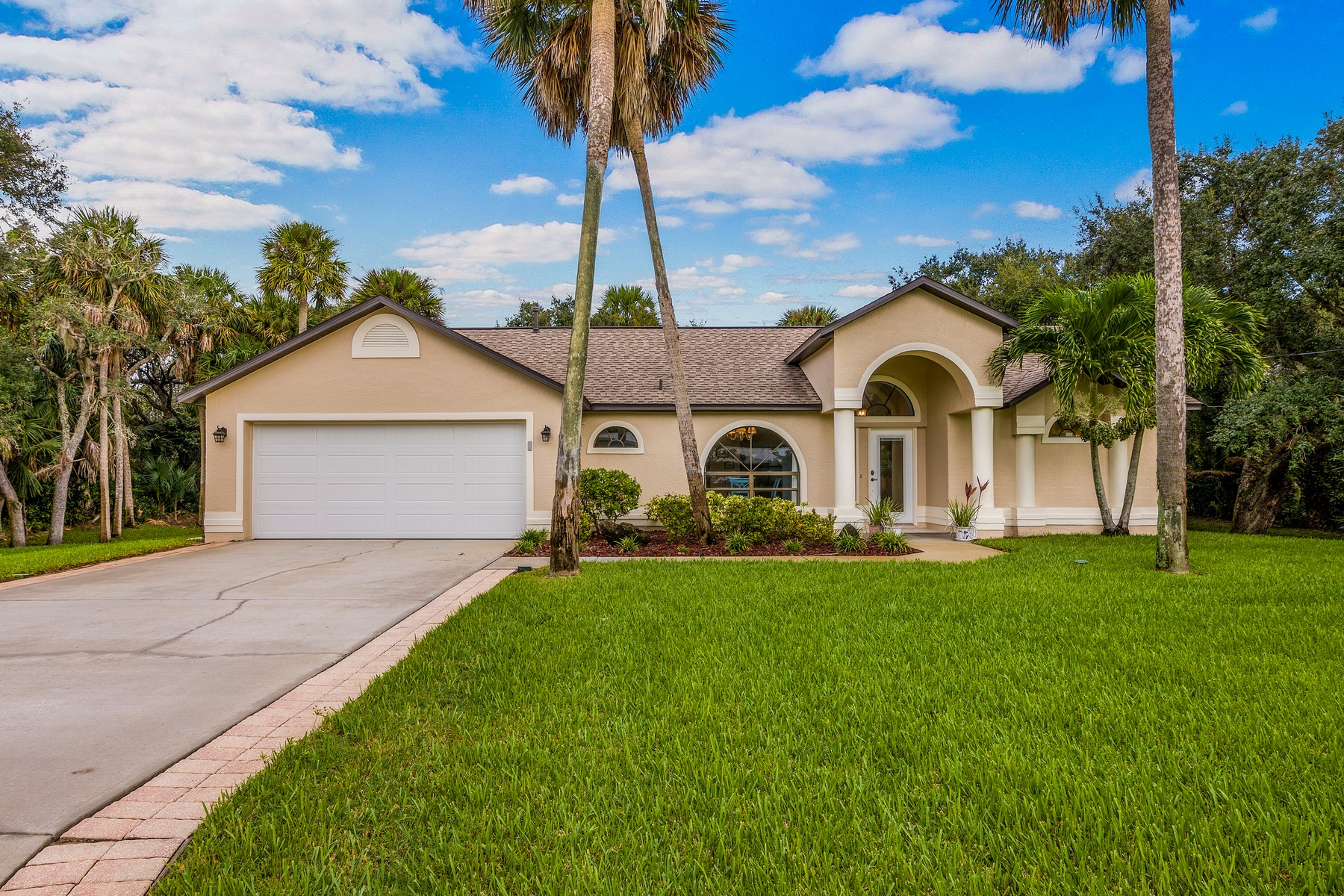 Single Family Homes for Sale at Impeccably Maintained Home Tucked Away in Charming, Coastal Neighborhood 340 Indian Mound Drive Melbourne Beach, Florida 32951 United States