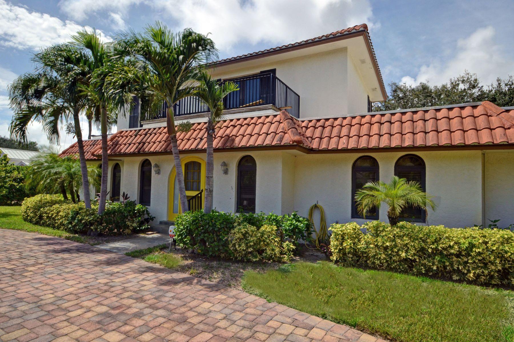 단독 가정 주택 용 매매 에 Marquis Old Riomar Estate Residence 1807 Ocean Drive Vero Beach, 플로리다, 32963 미국