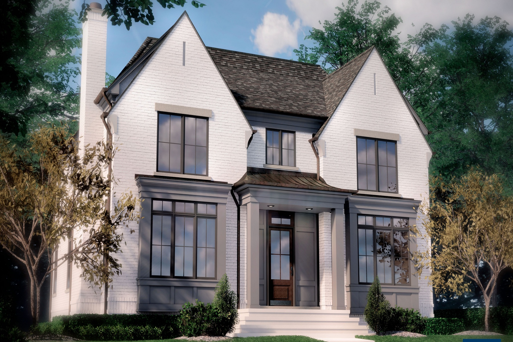 Single Family Homes for Active at Birmingham 608 Stanley Blvd. Birmingham, Michigan 48009 United States