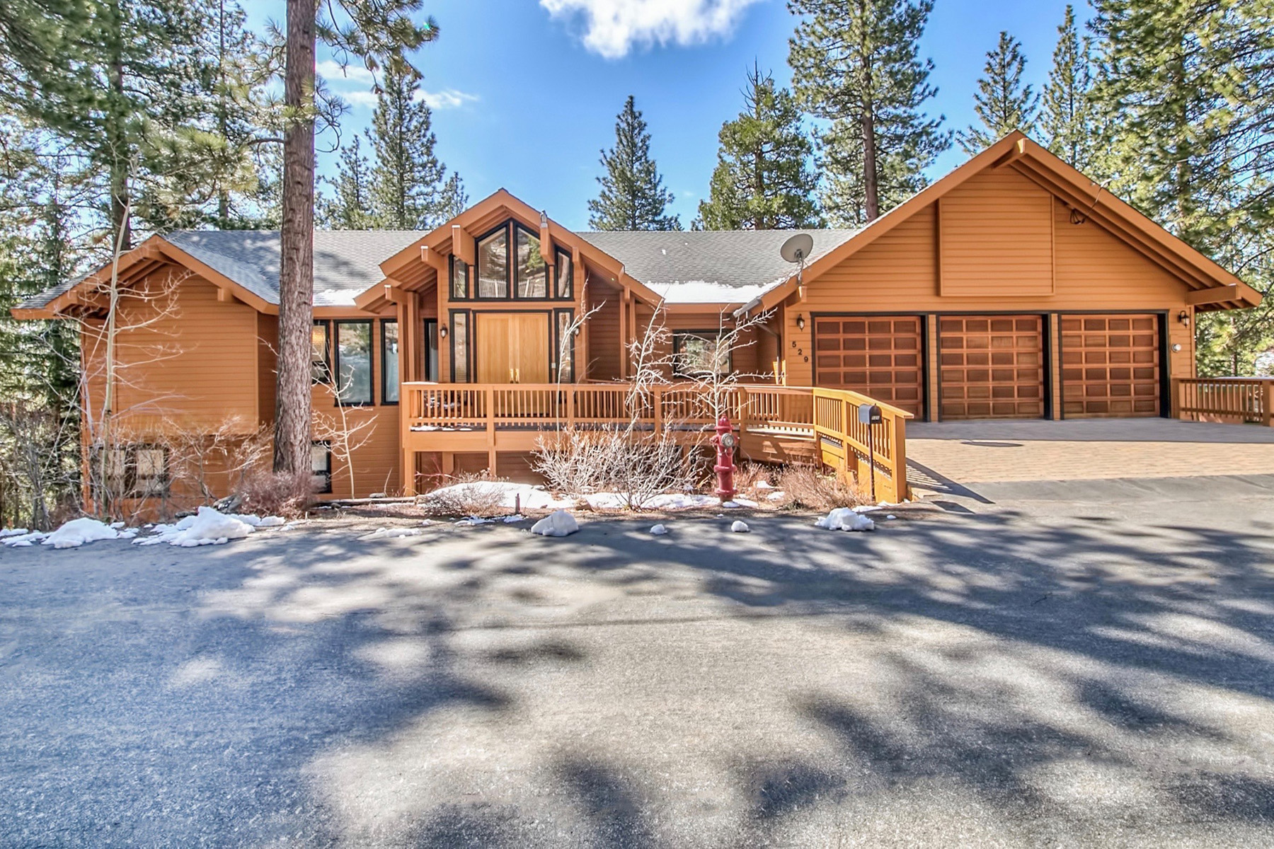 Single Family Home for Sale at 529 Ponderosa Avenue, Incline Village, Nevada Incline Village, Nevada, 89451 Lake Tahoe, United States