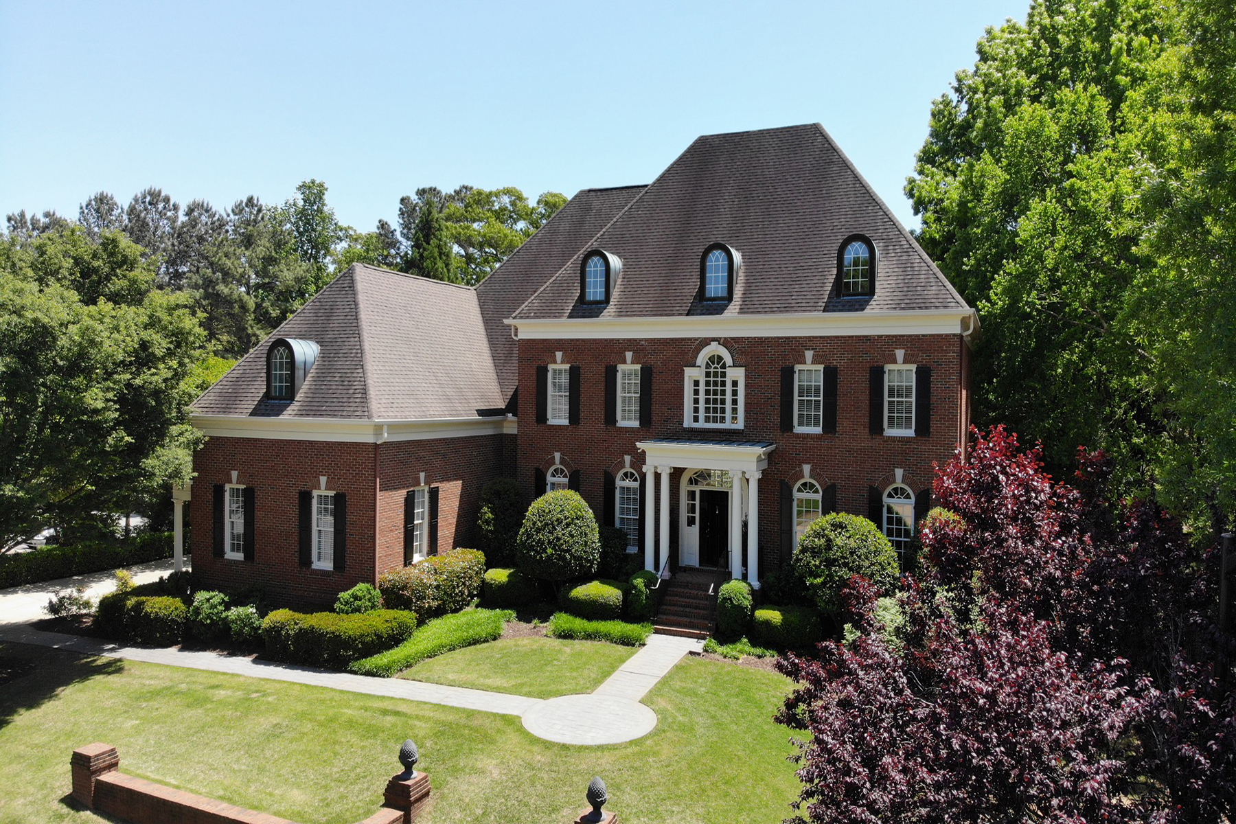 Single Family Home for Sale at Stately Brick Beauty 447 Langley Oaks Dr Marietta, Georgia 30067 United States