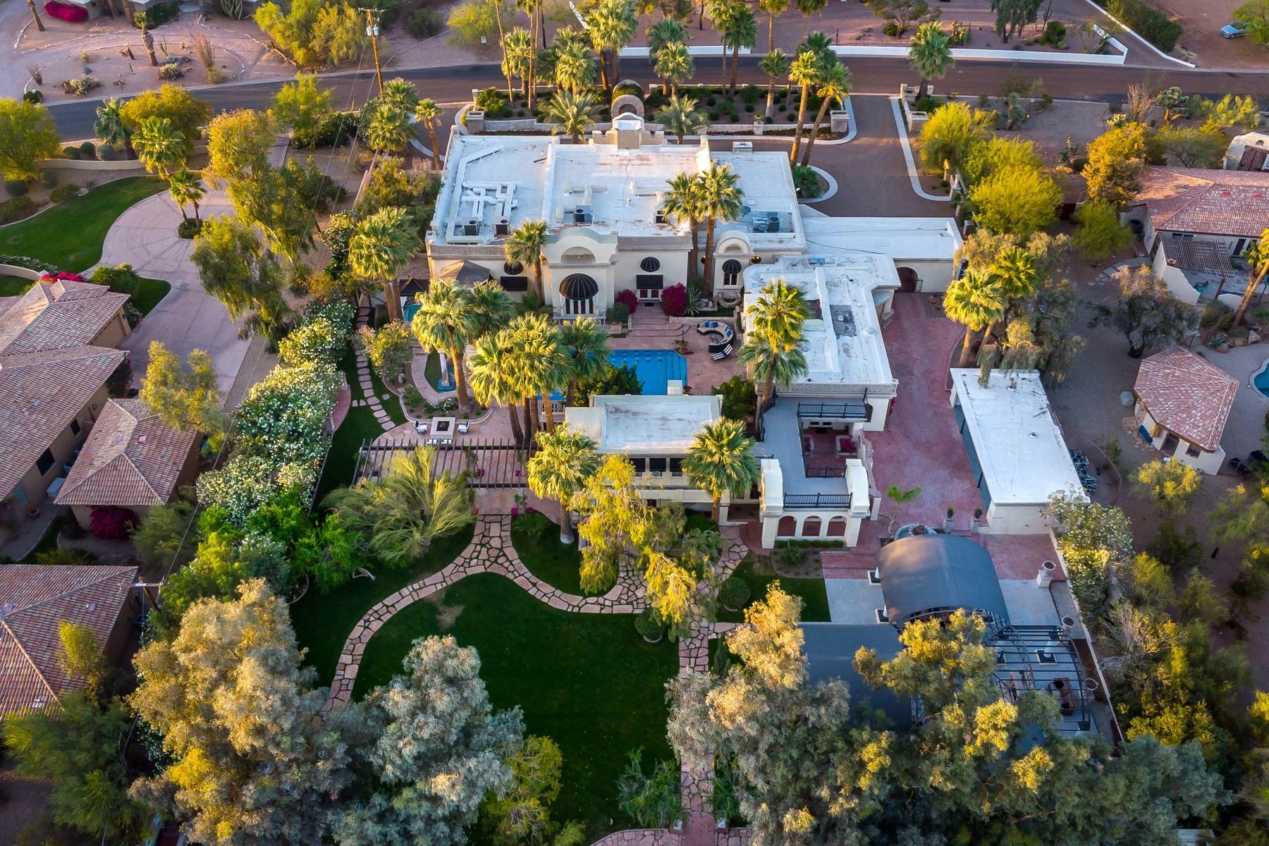 Single Family Homes for Active at Opulent European Neoclassical Estate 5333 E Palomino Rd Phoenix, Arizona 85018 United States