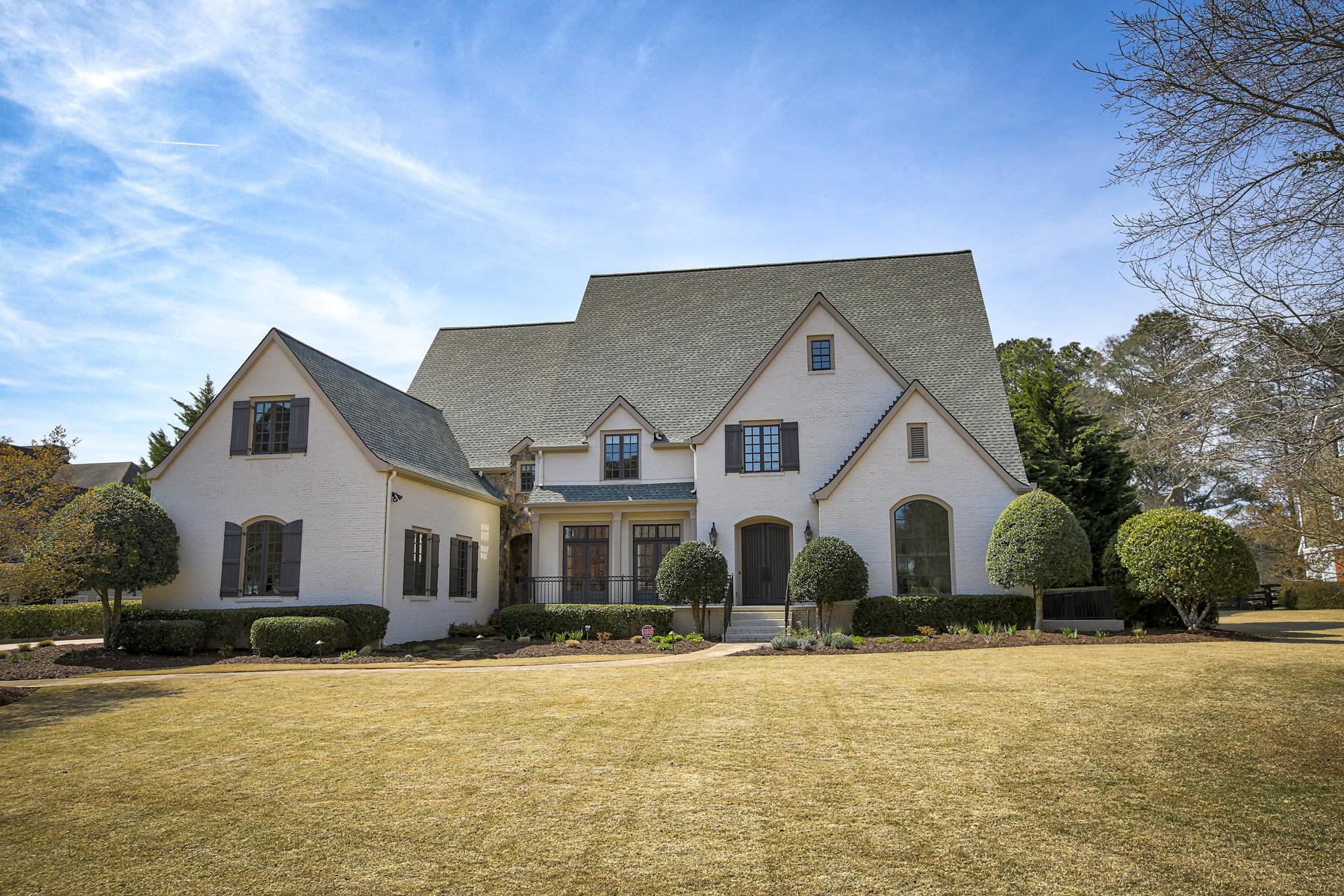 Casa Unifamiliar por un Venta en Stunning Home Exudes Style And Elegance 735 Cooper Sandy Cove, Milton, Georgia, 30004 Estados Unidos