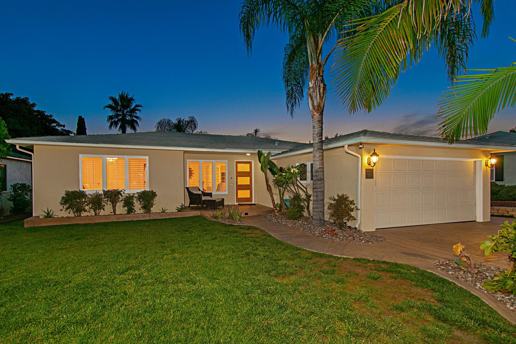 獨棟家庭住宅 為 出售 在 Talmadge 4812 Lorraine Talmadge, San Diego, 加利福尼亞州, 92115 美國