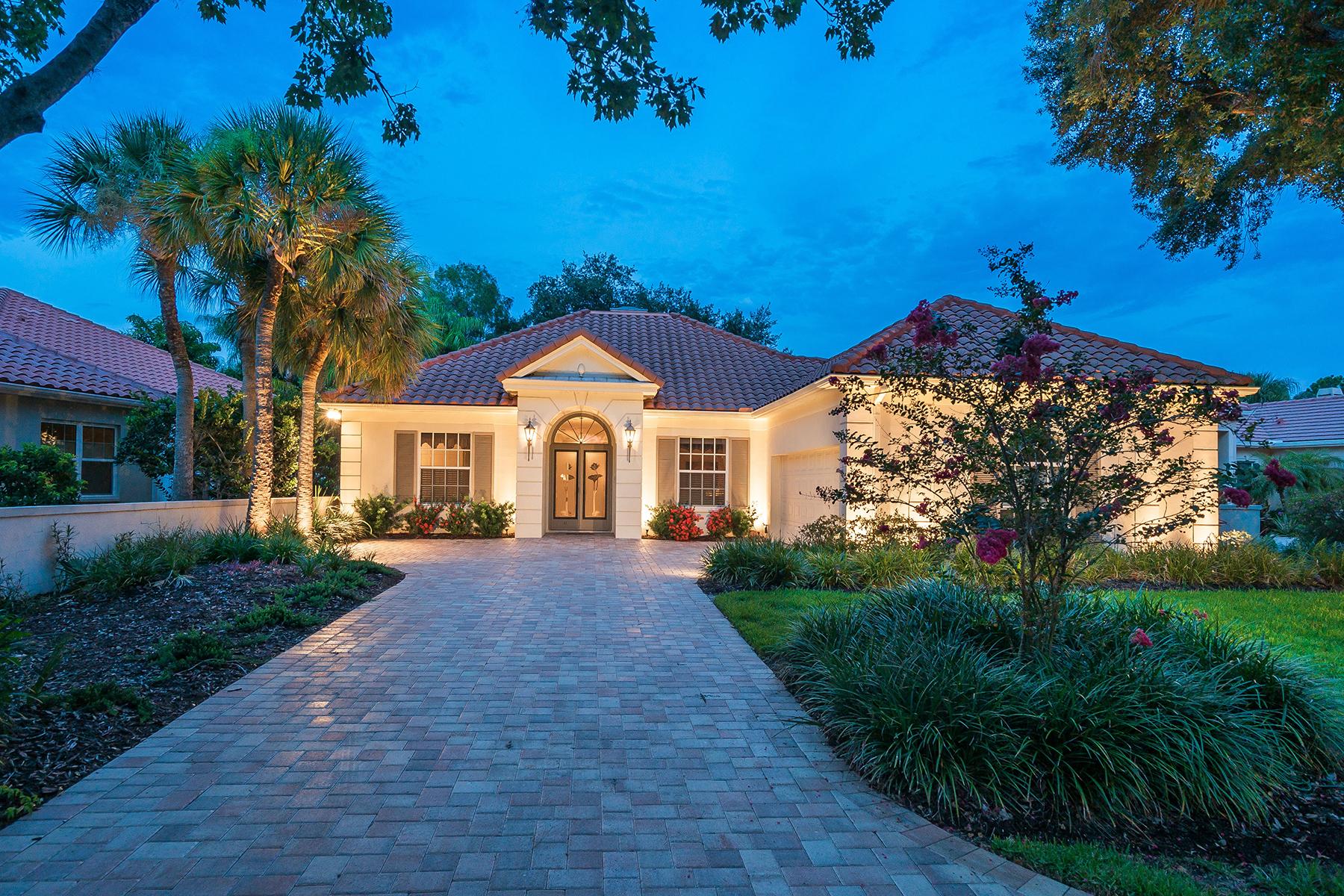 Single Family Homes for Sale at BOCA ROYALE 41 Saint John Blvd Englewood, Florida 34223 United States