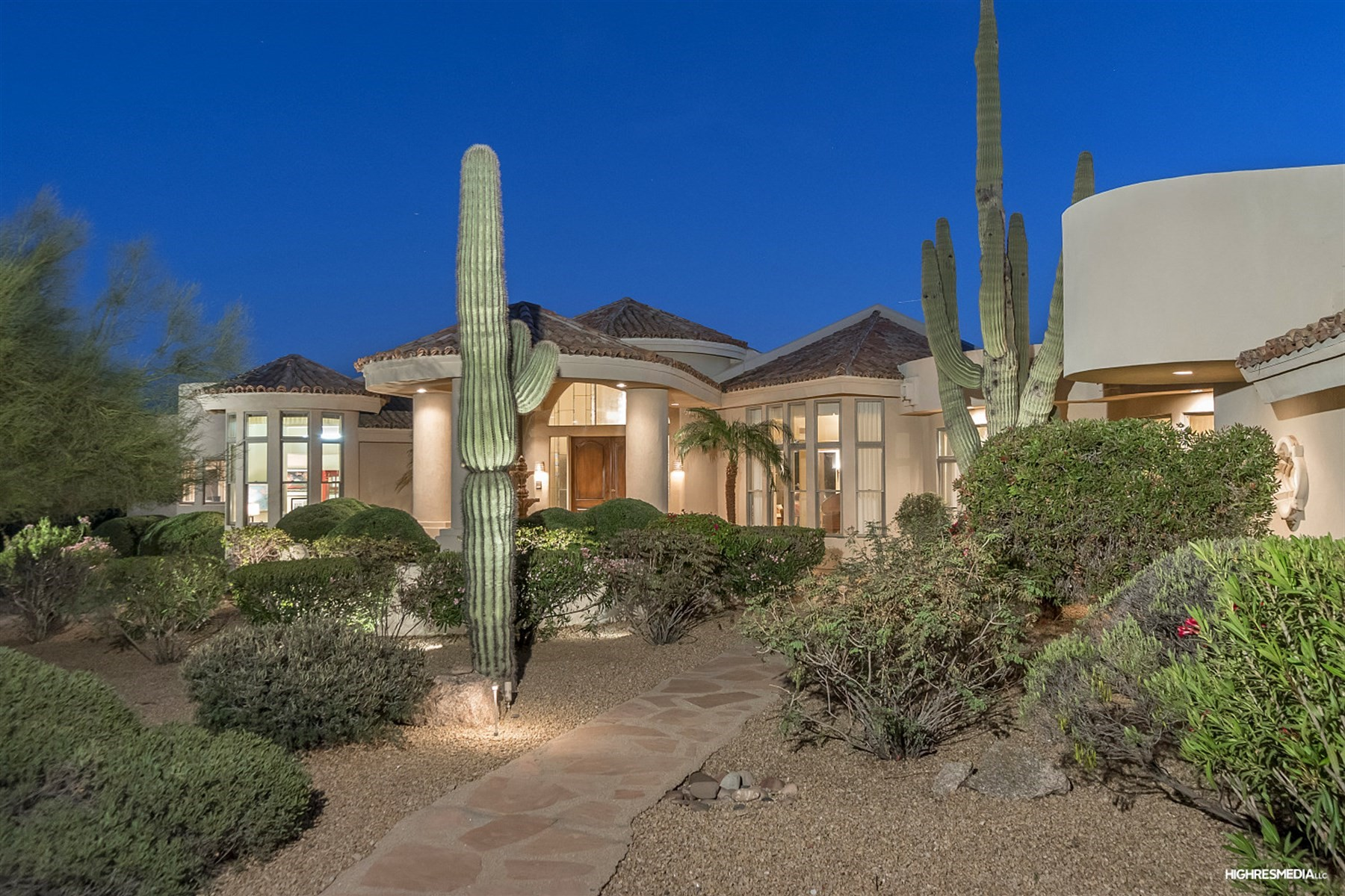 Single Family Home for Sale at Exceptional Pinnacle Peak Country Club Estates residence 8285 E Via Del Sol Dr Scottsdale, Arizona, 85255 United States