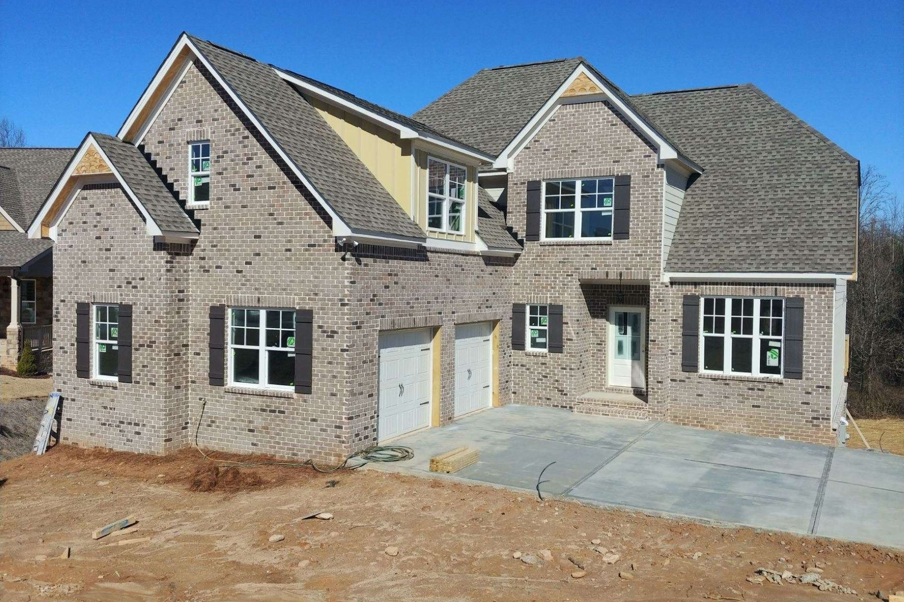 Single Family Homes for Active at New Construction, Four Bedrooms 9160 Hannahs Crossing Drive Gainesville, Georgia 30506 United States