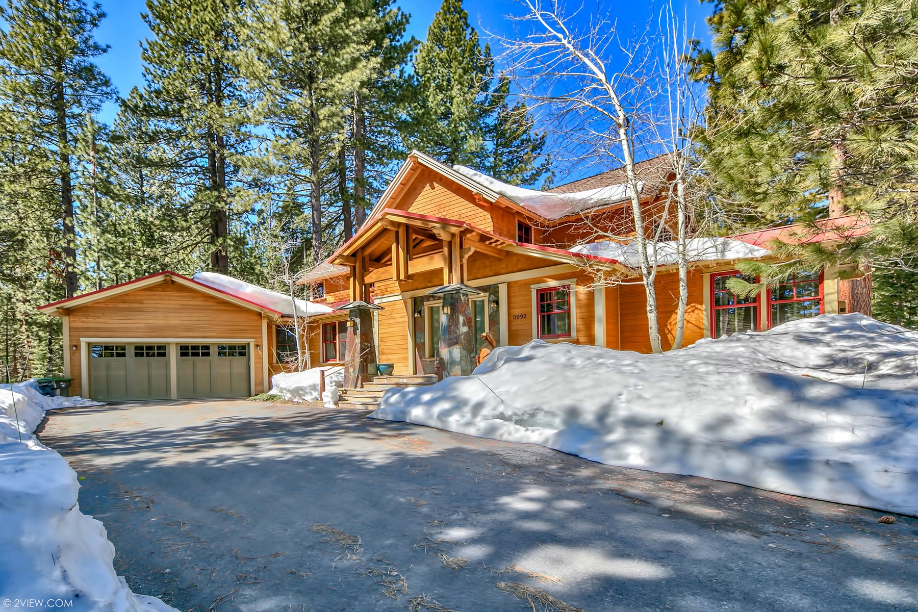 Casa Unifamiliar por un Venta en 11092 China Camp Road, Truckee, CA 11092 China Camp Road Truckee, California 96161 Estados Unidos