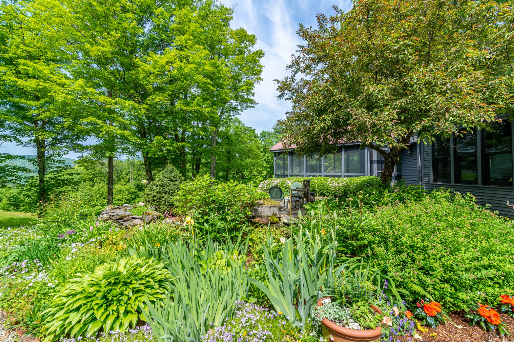 Single Family Homes for Sale at Bucolic Mettowee Valley Oasis 2731 Herrick Brook Rd Pawlet, Vermont 05761 United States