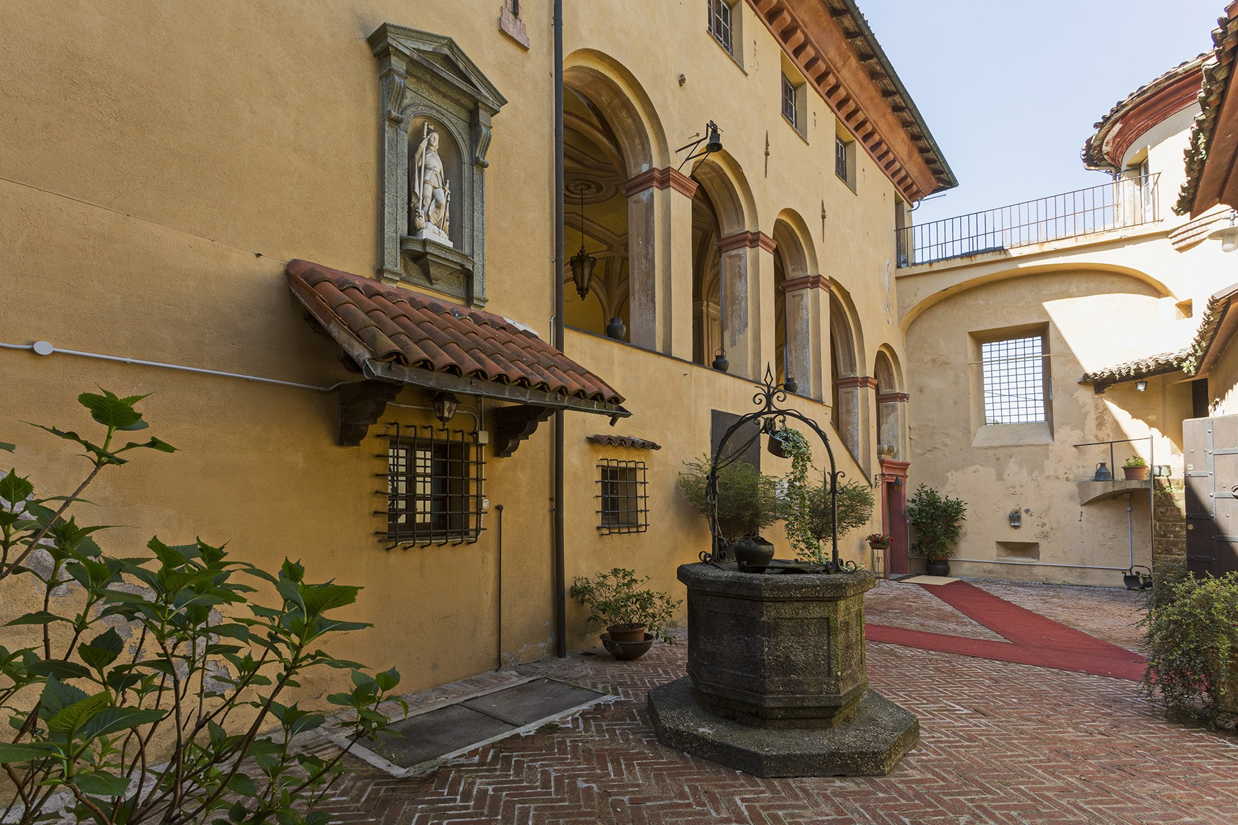 Single Family Home for Sale at Elegant medieval castle with private church Via Piano Other Genoa, Genoa 16017 Italy