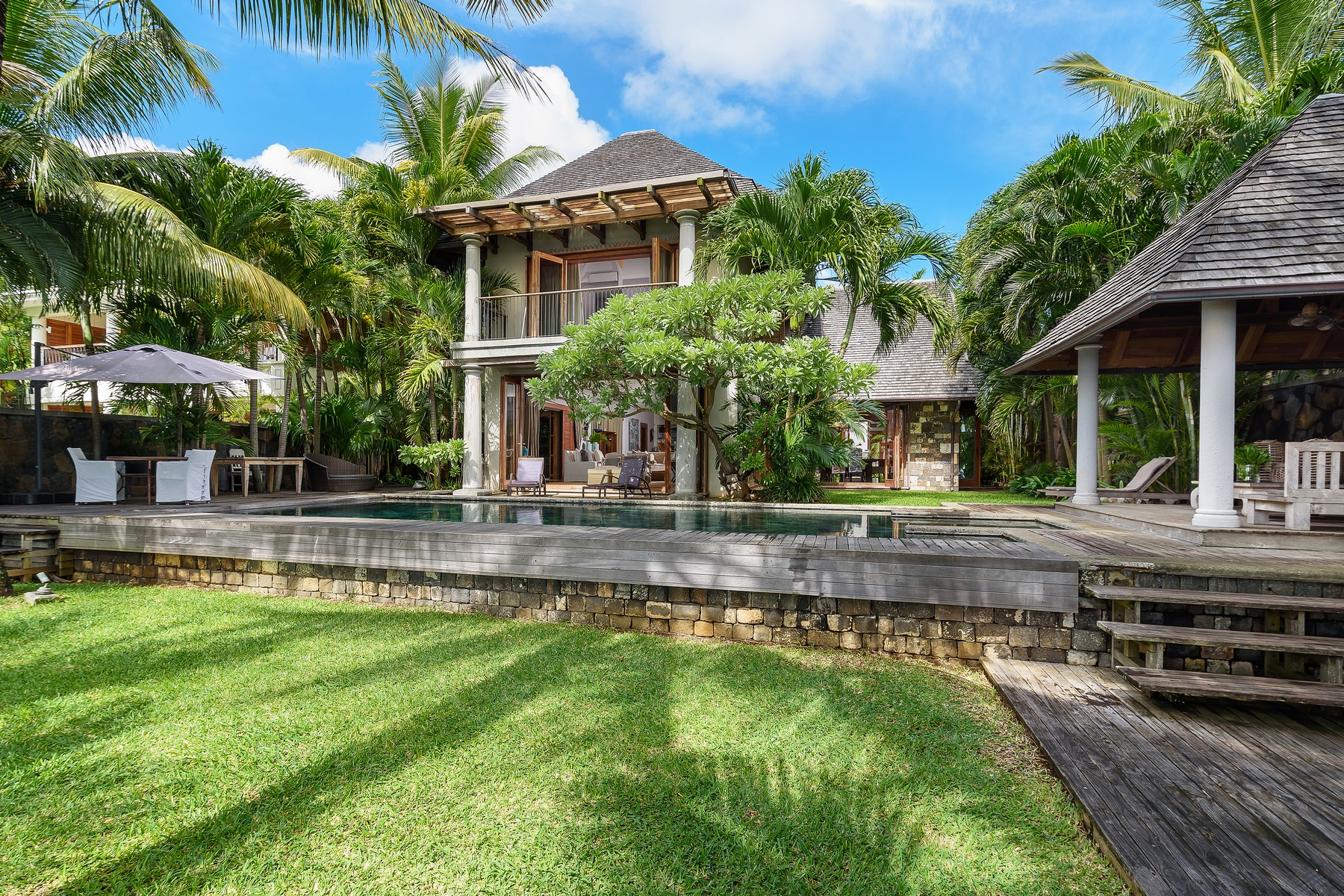 "Single Family Home for Sale at Waterfront Colonial Villa overlooking ""Coin de Mire"" Grand Baie, Riviere Du Rempart Mauritius"