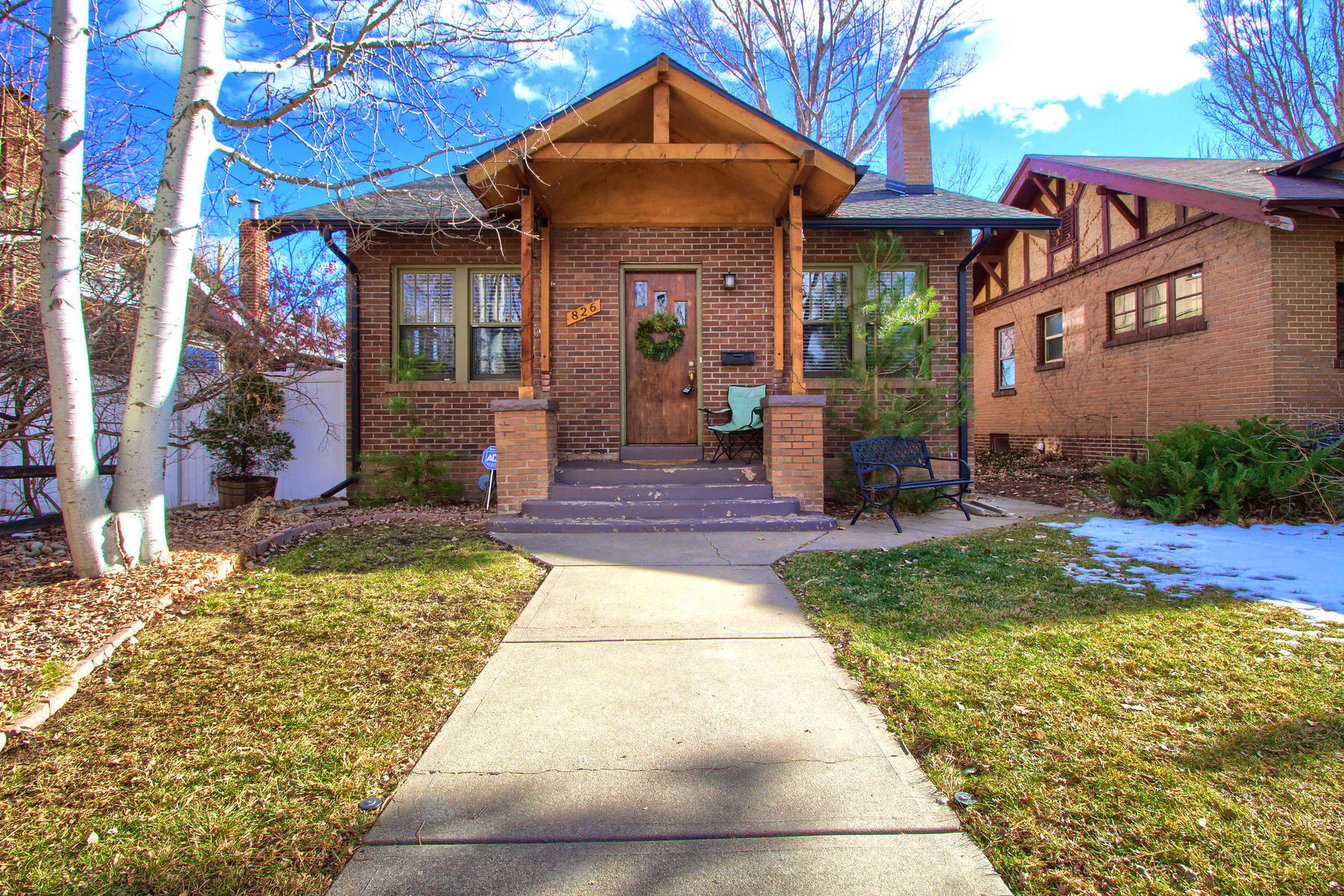 Single Family Home for Active at Charming 3 bedroom, 2 bathroom bungalow in the heart of Congress Park! 826 Madison St Denver, Colorado 80206 United States