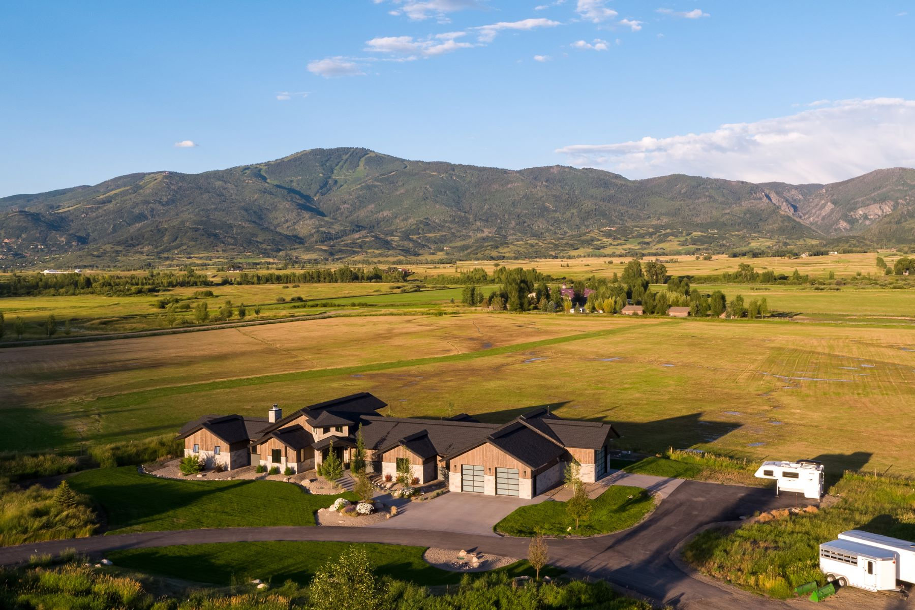 Farm / Ranch / Plantation for Active at Wandering Creek Ranch 33850 County Road 14 Steamboat Springs, Colorado 80487 United States
