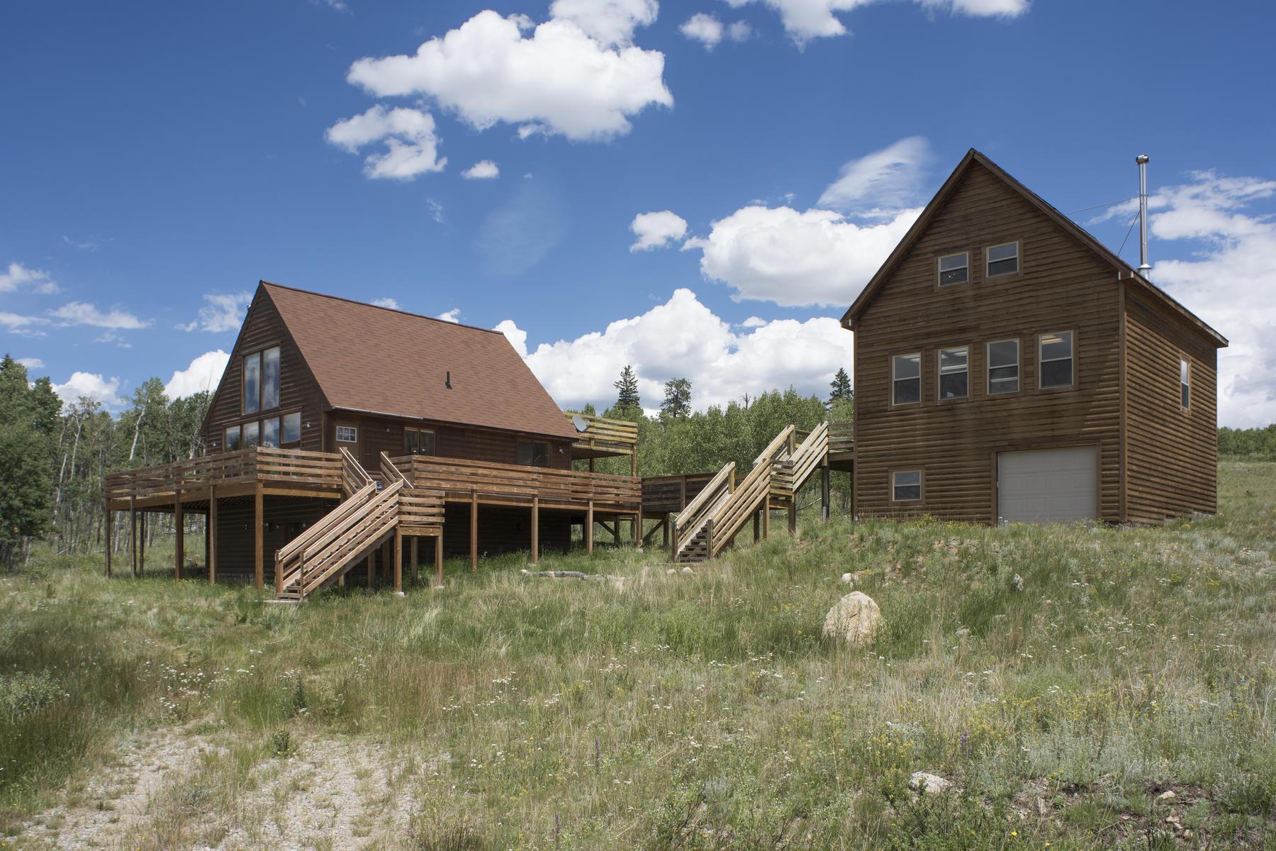 Vivienda unifamiliar por un Venta en Artists Retreat 80 Wolf Court Como, Colorado, 80432 Estados Unidos