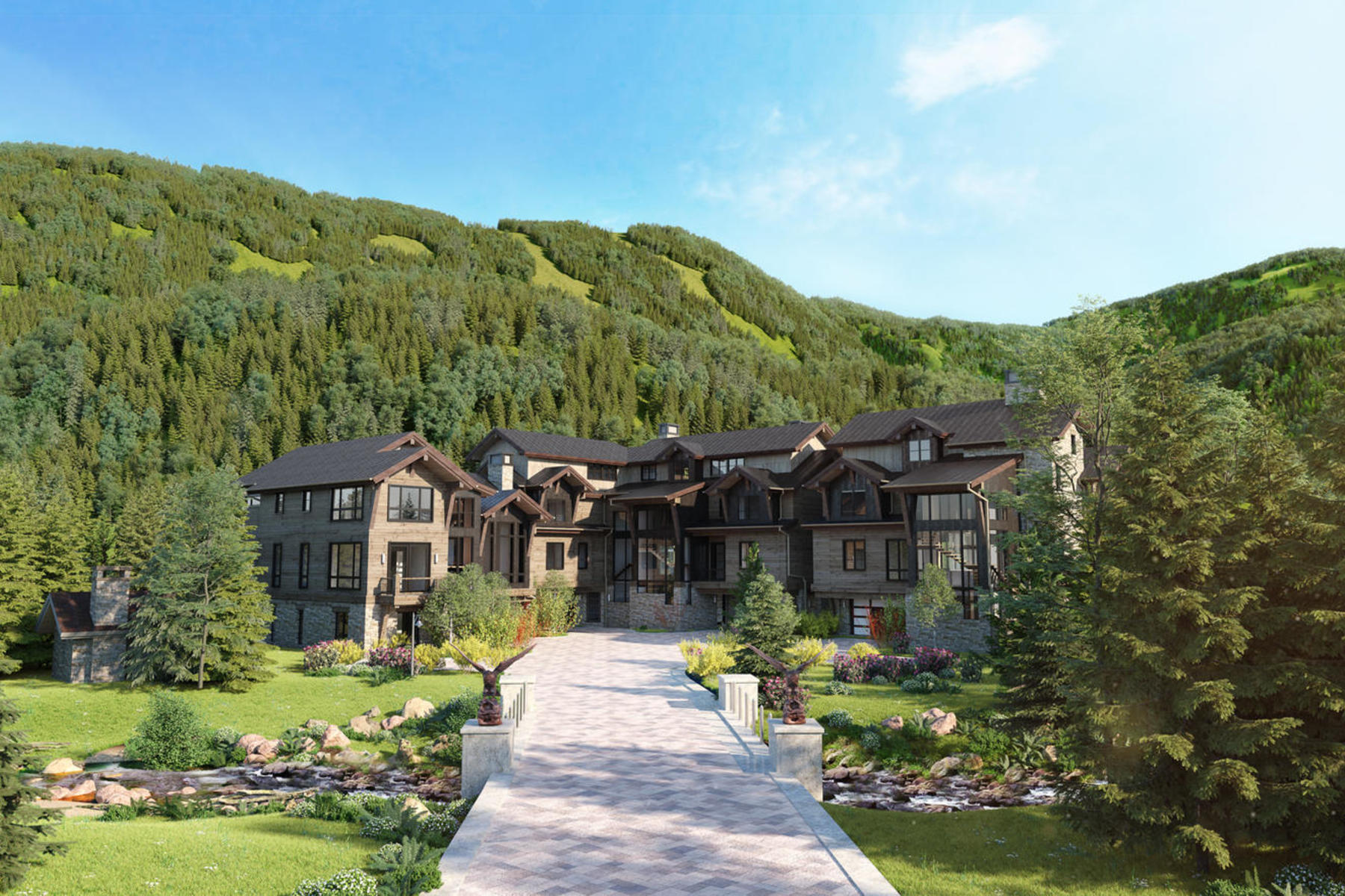 Single Family Homes for Sale at Peregrine Villas 191 Elk Track Road Beaver Creek, Colorado 81620 United States